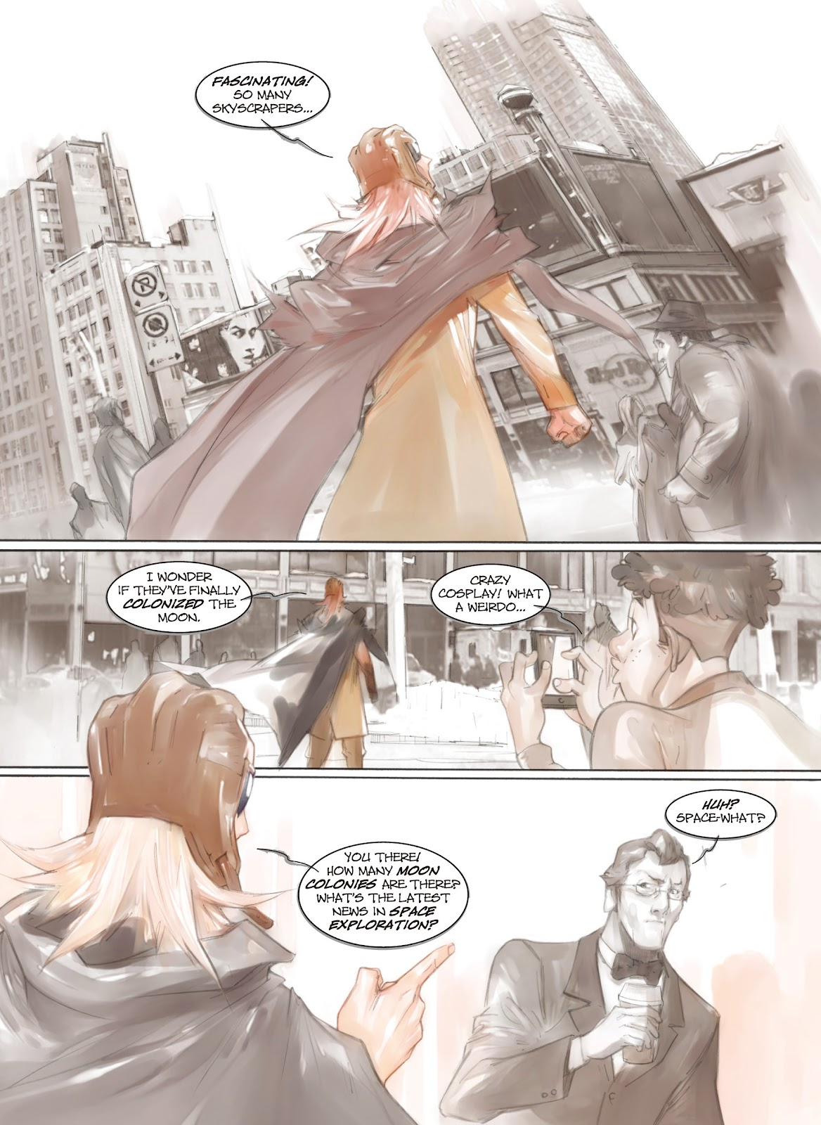 Read online Makeshift Miracle: The Girl From Nowhere comic -  Issue #5 - 6