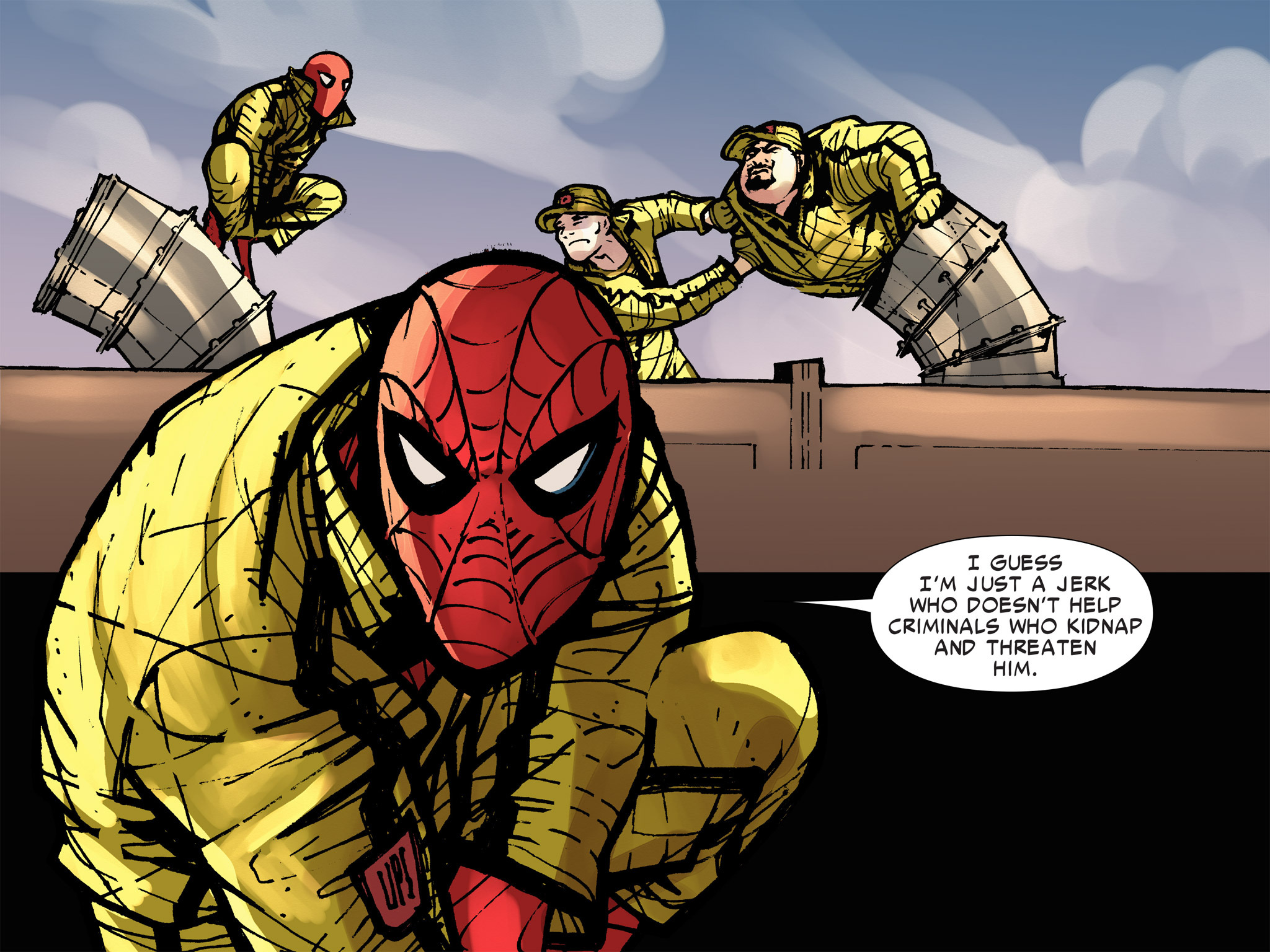 Read online Amazing Spider-Man: Who Am I? comic -  Issue # Full (Part 3) - 136