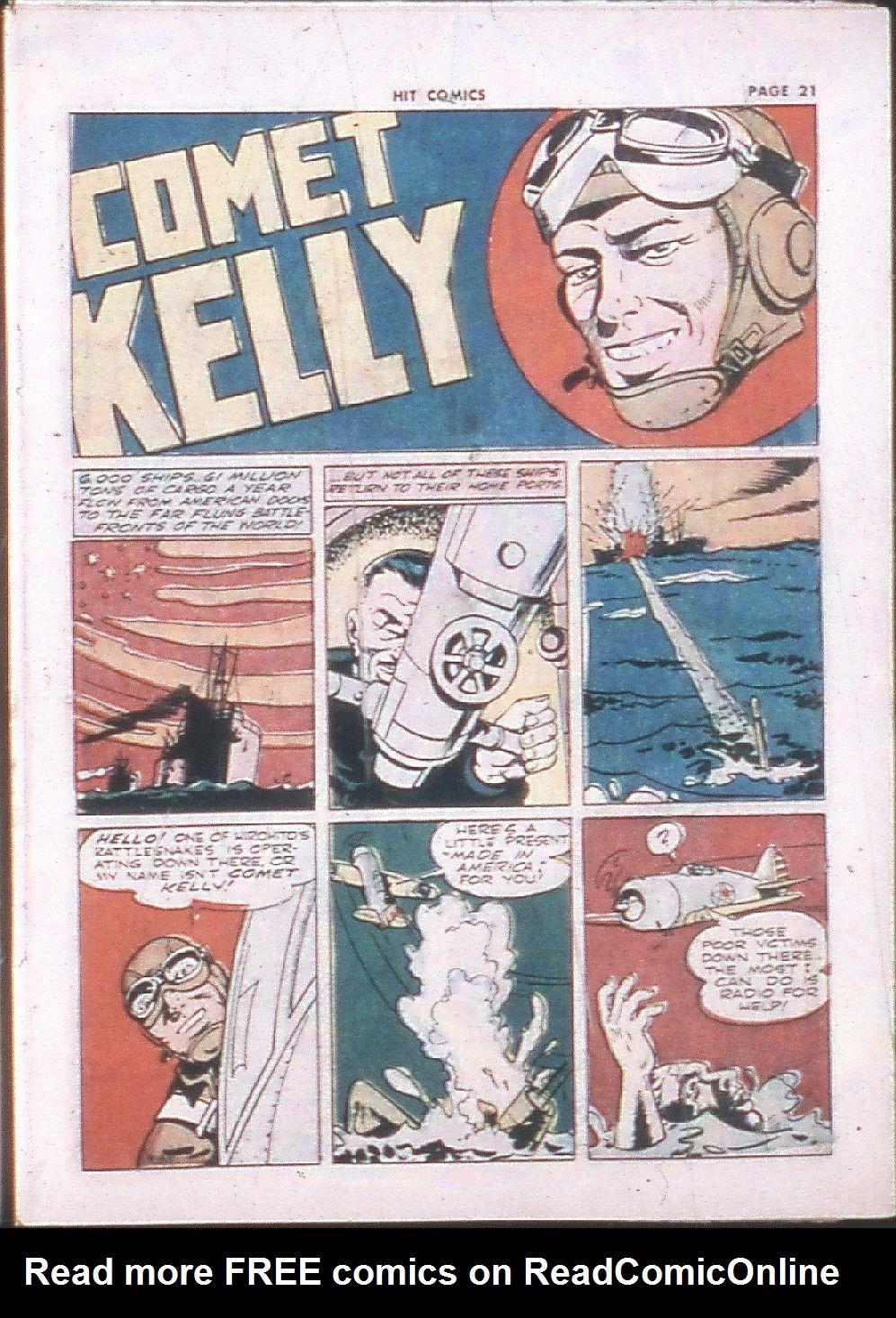 Read online Hit Comics comic -  Issue #24 - 23