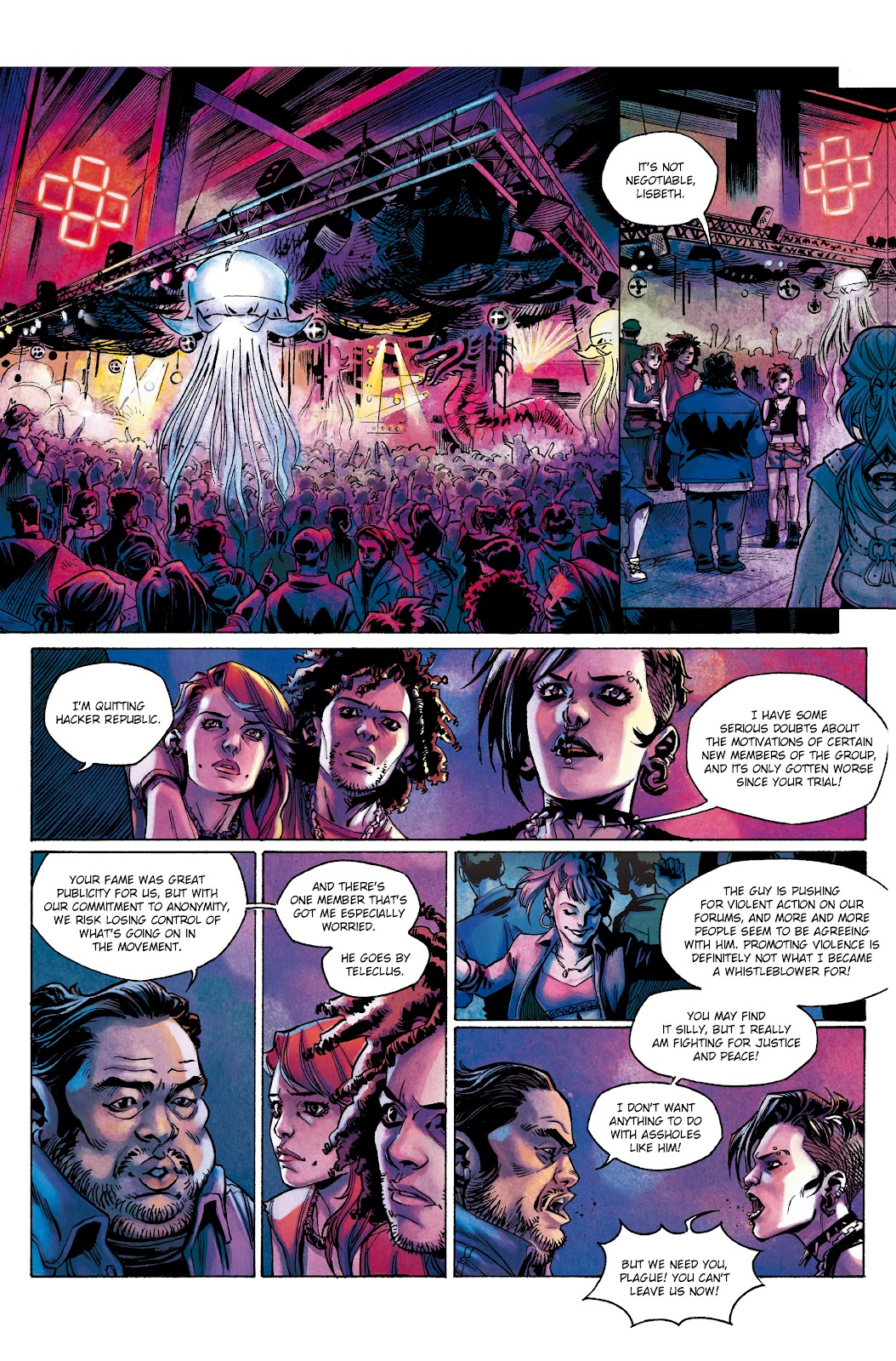 Read online Millennium: The Girl Who Danced With Death comic -  Issue #2 - 4
