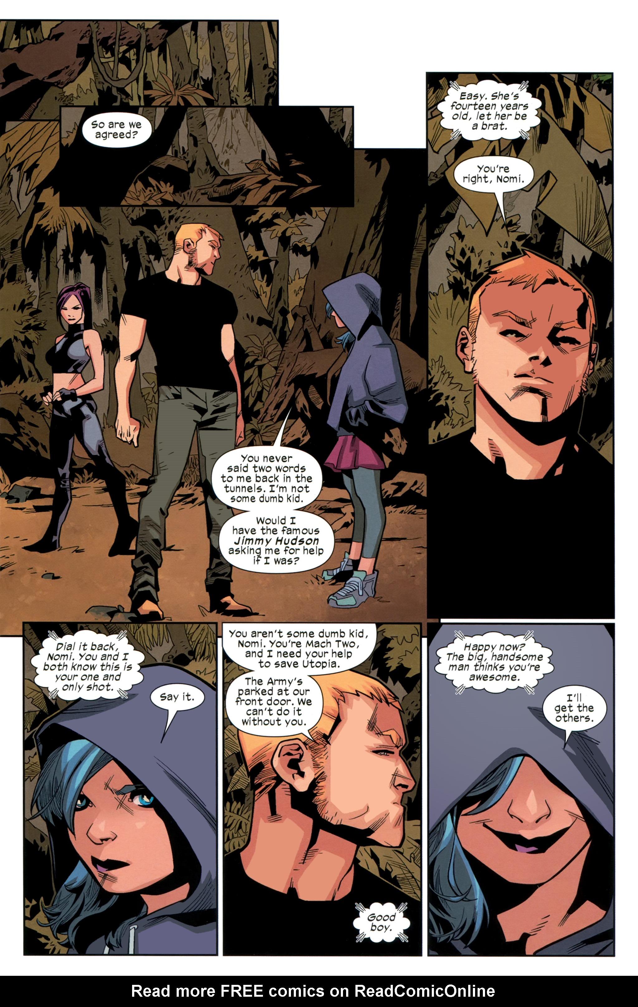 Read online Ultimate Comics X-Men comic -  Issue #26 - 18