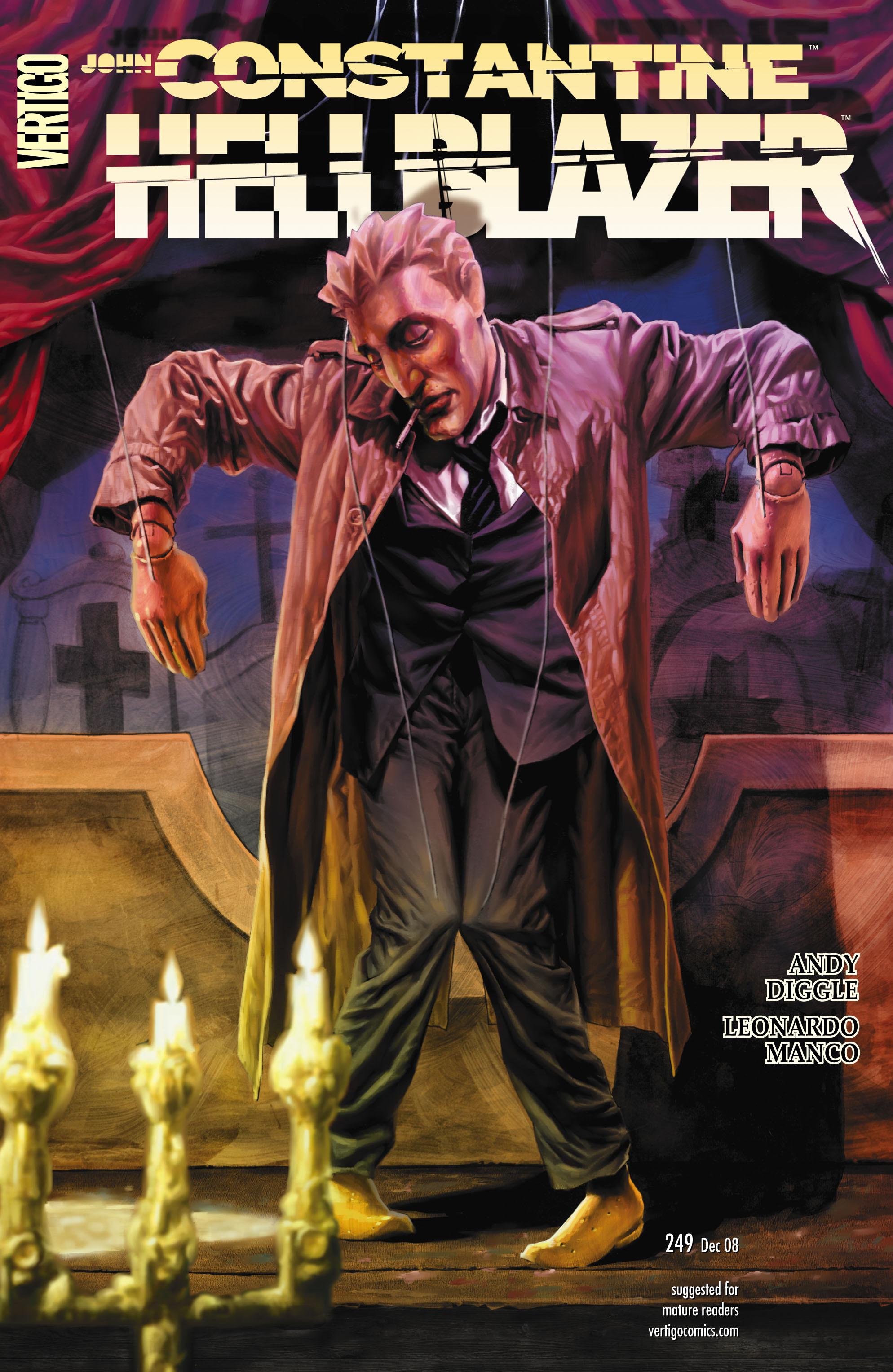Hellblazer issue 249 - Page 1