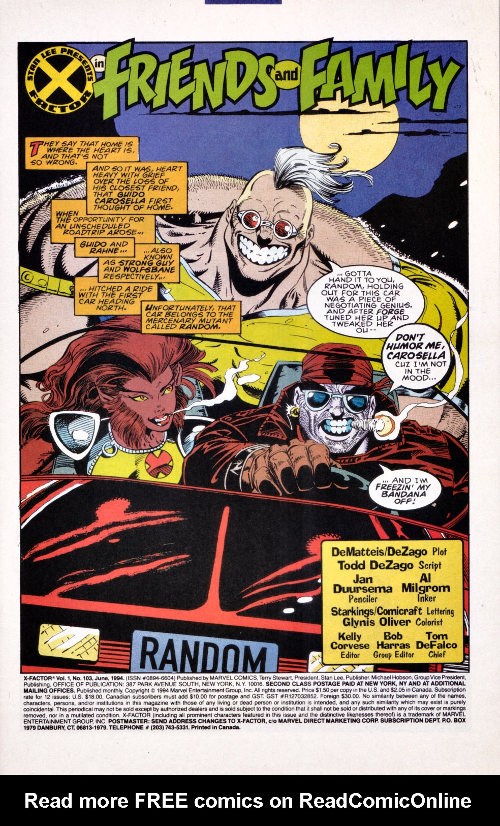 Read online X-Factor (1986) comic -  Issue #103 - 2