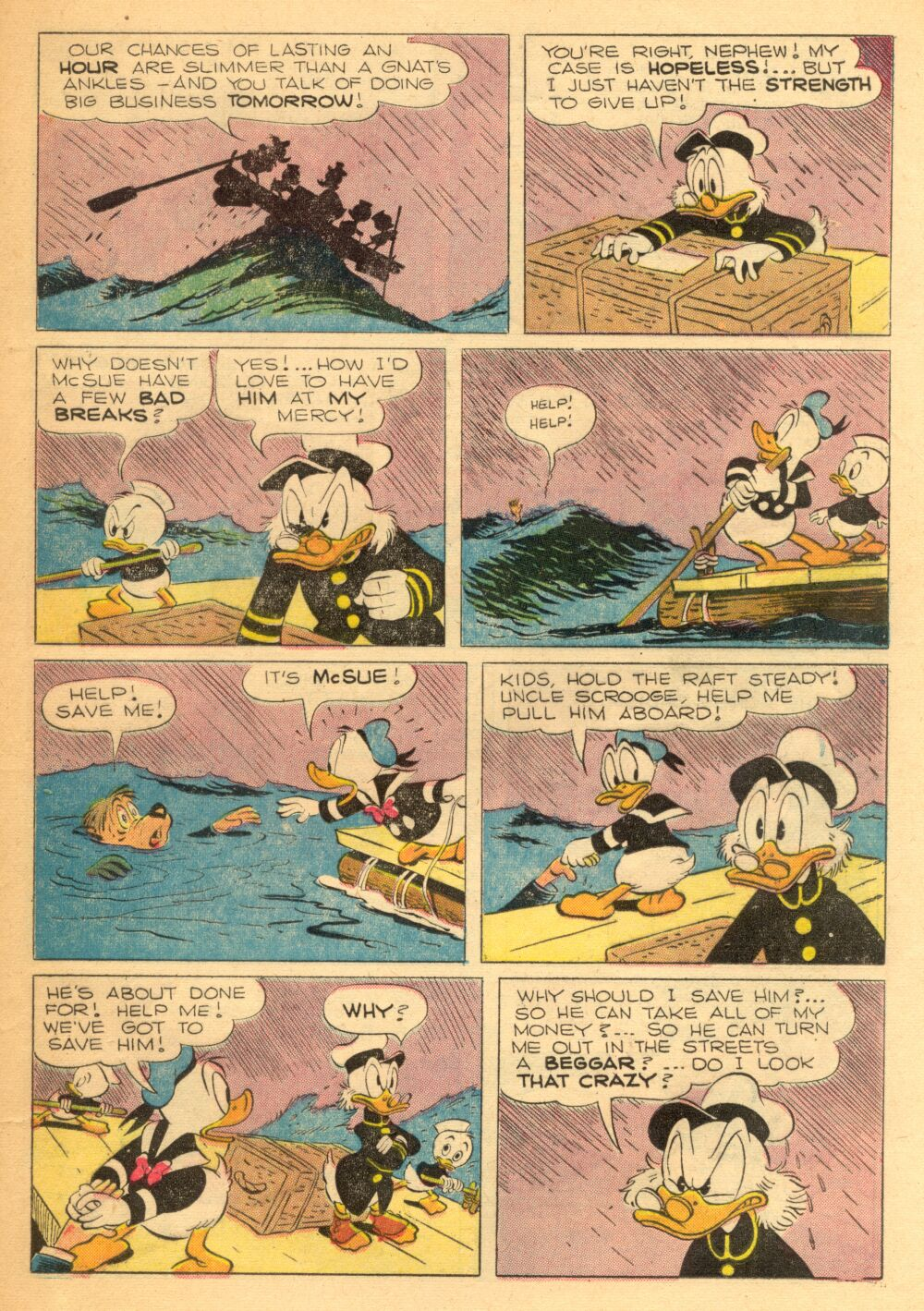 Read online Uncle Scrooge (1953) comic -  Issue #3 - 21