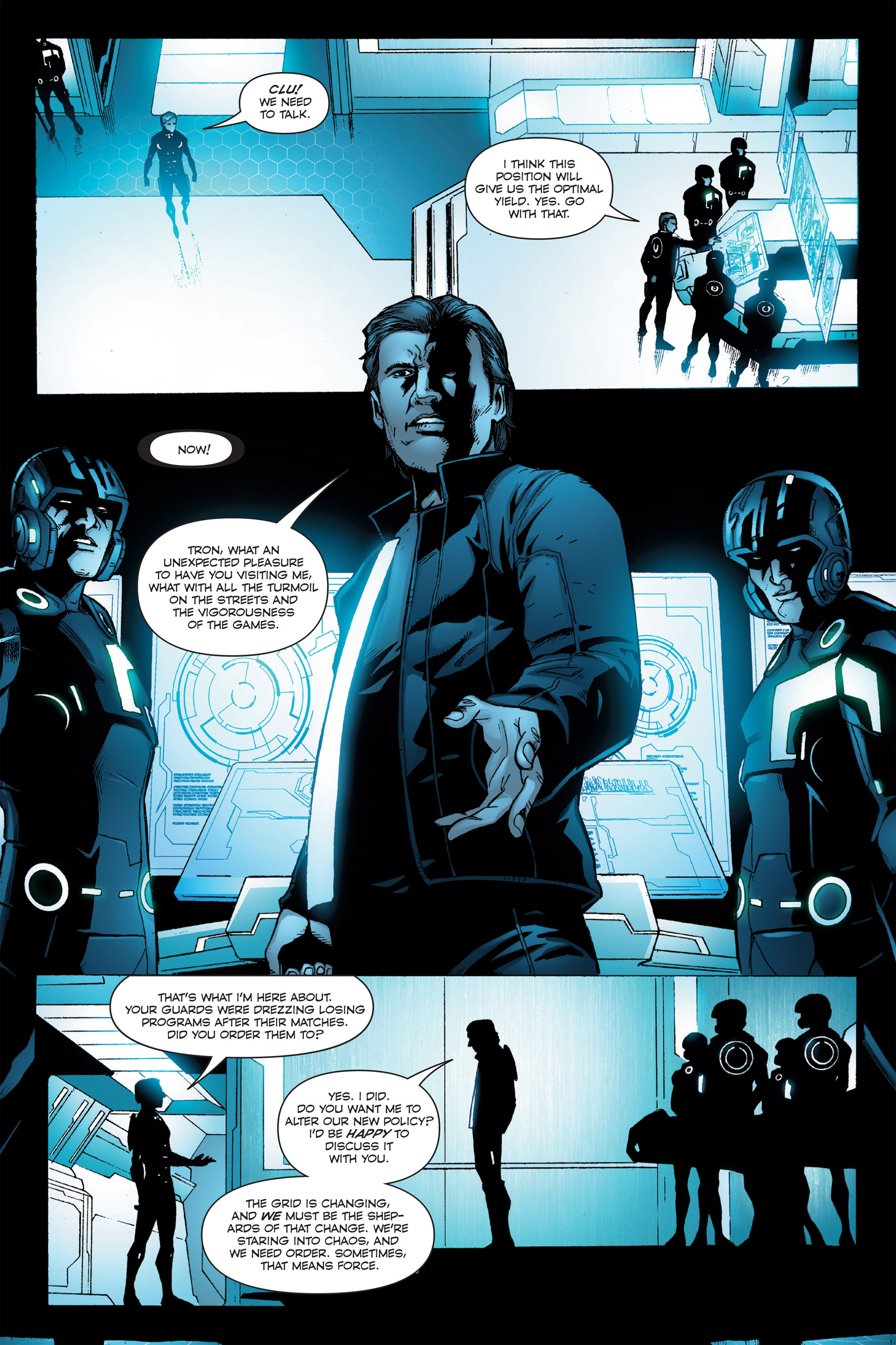 Read online TRON: Betrayal comic -  Issue # TPB - 84