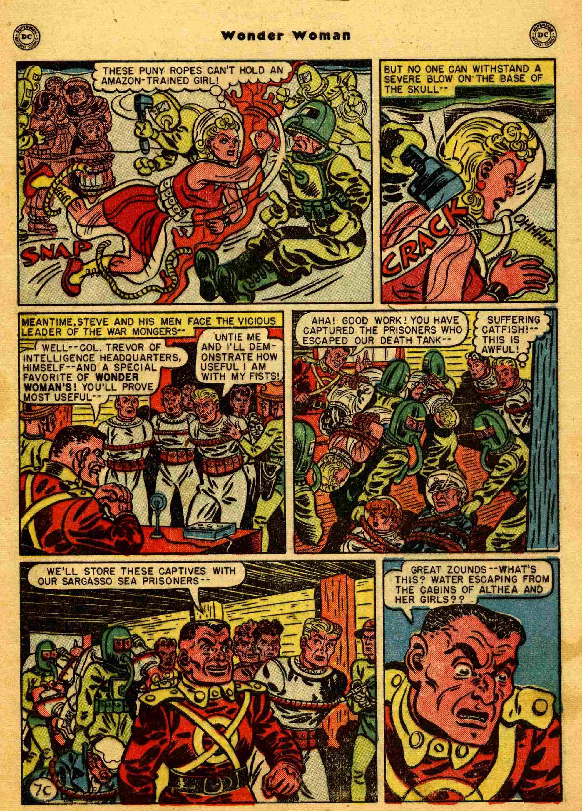Read online Wonder Woman (1942) comic -  Issue #44 - 32