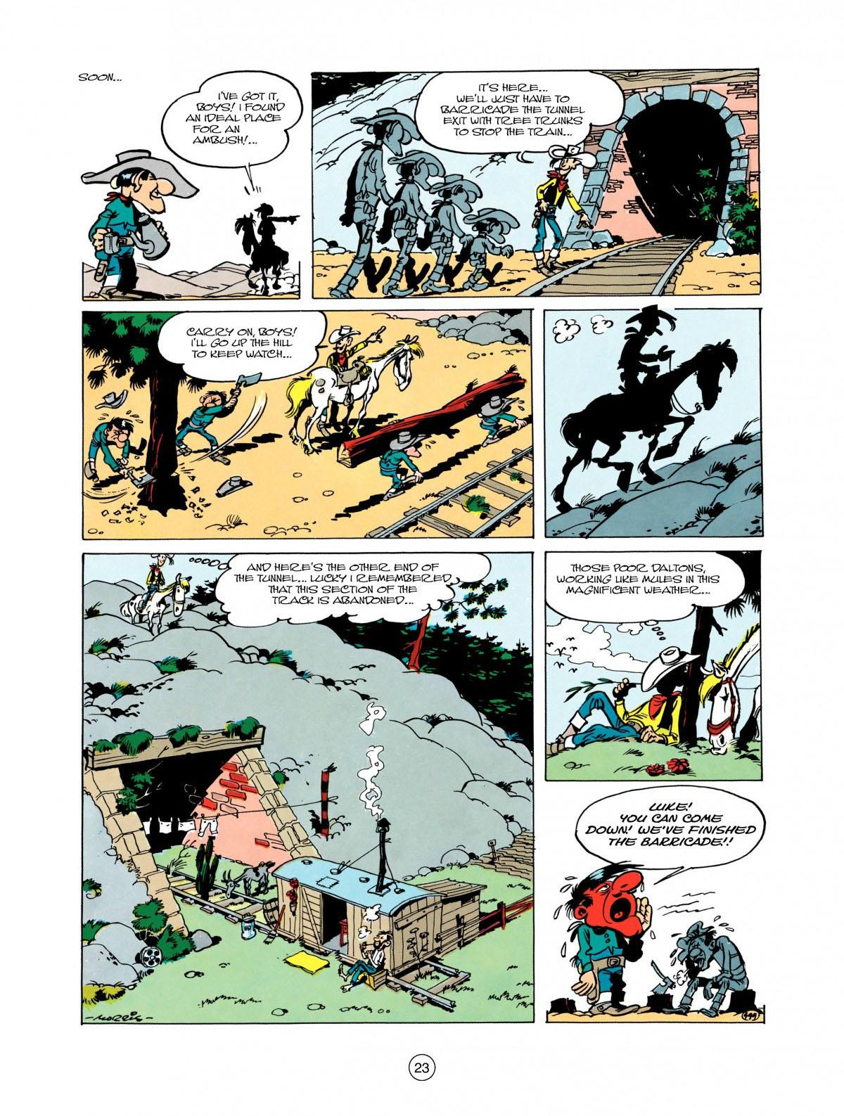 Read online A Lucky Luke Adventure comic -  Issue #28 - 24