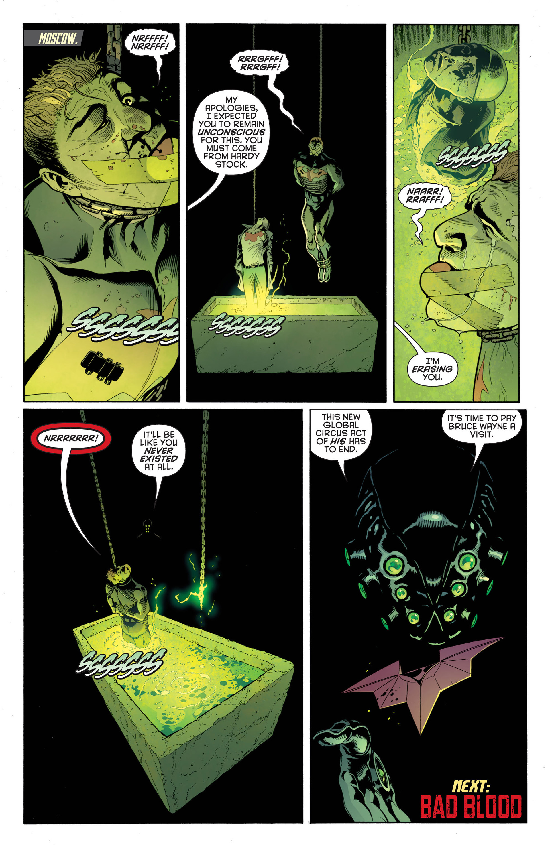 Read online Batman and Robin (2011) comic -  Issue #1 - 21