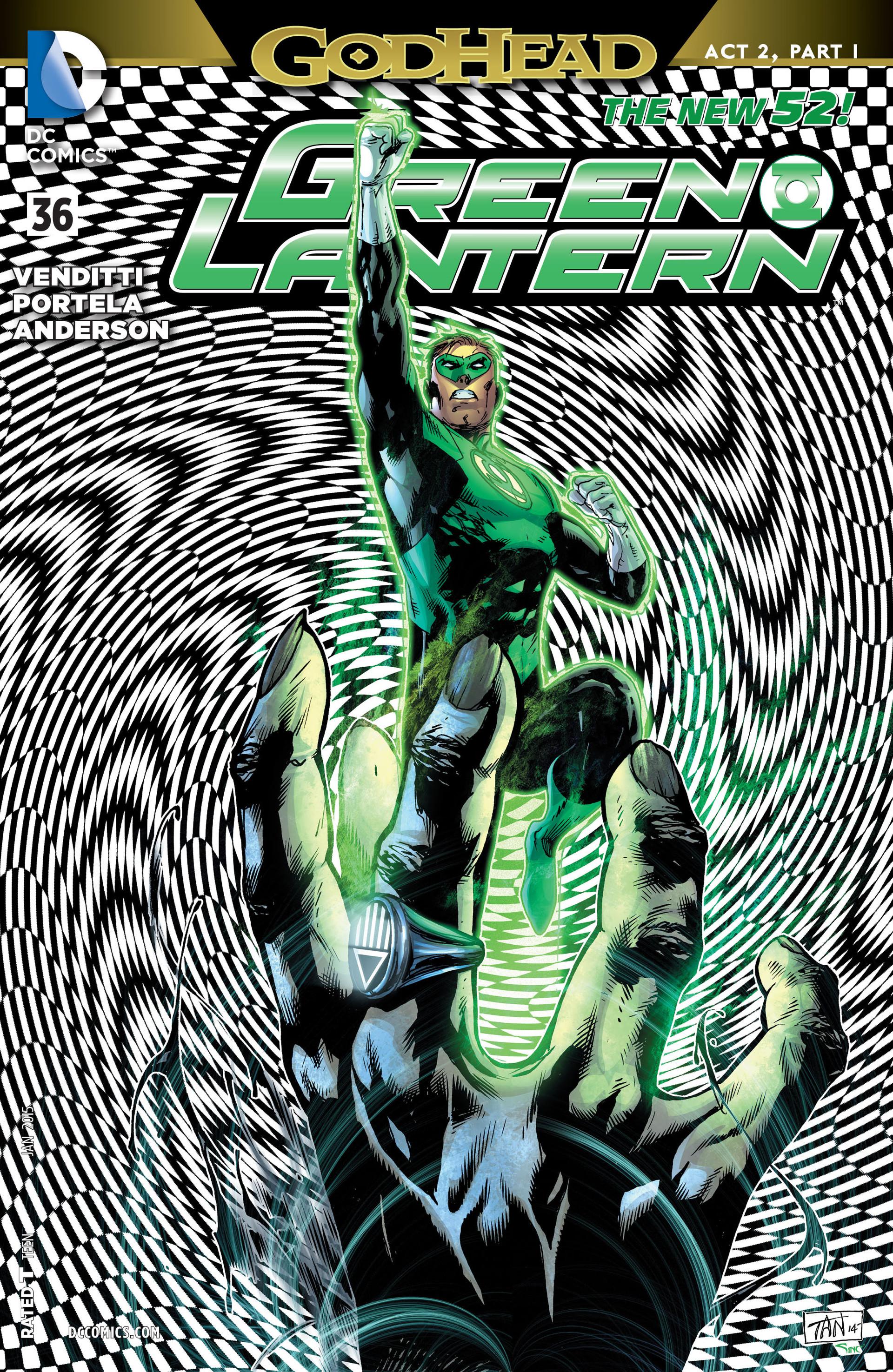 Green Lantern/New Gods: Godhead 7 Page 1