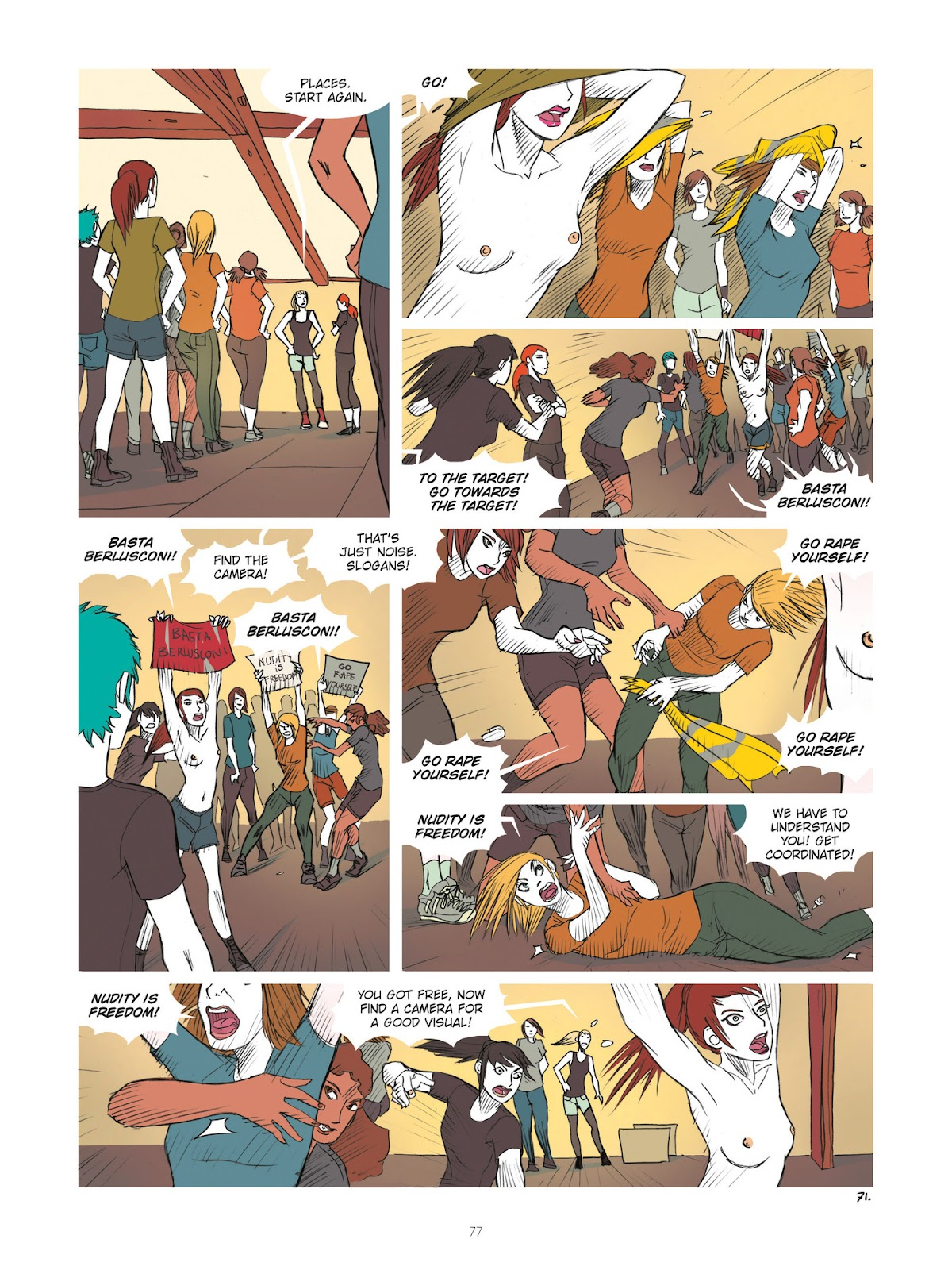Read online Diary of A Femen comic -  Issue # TPB - 79