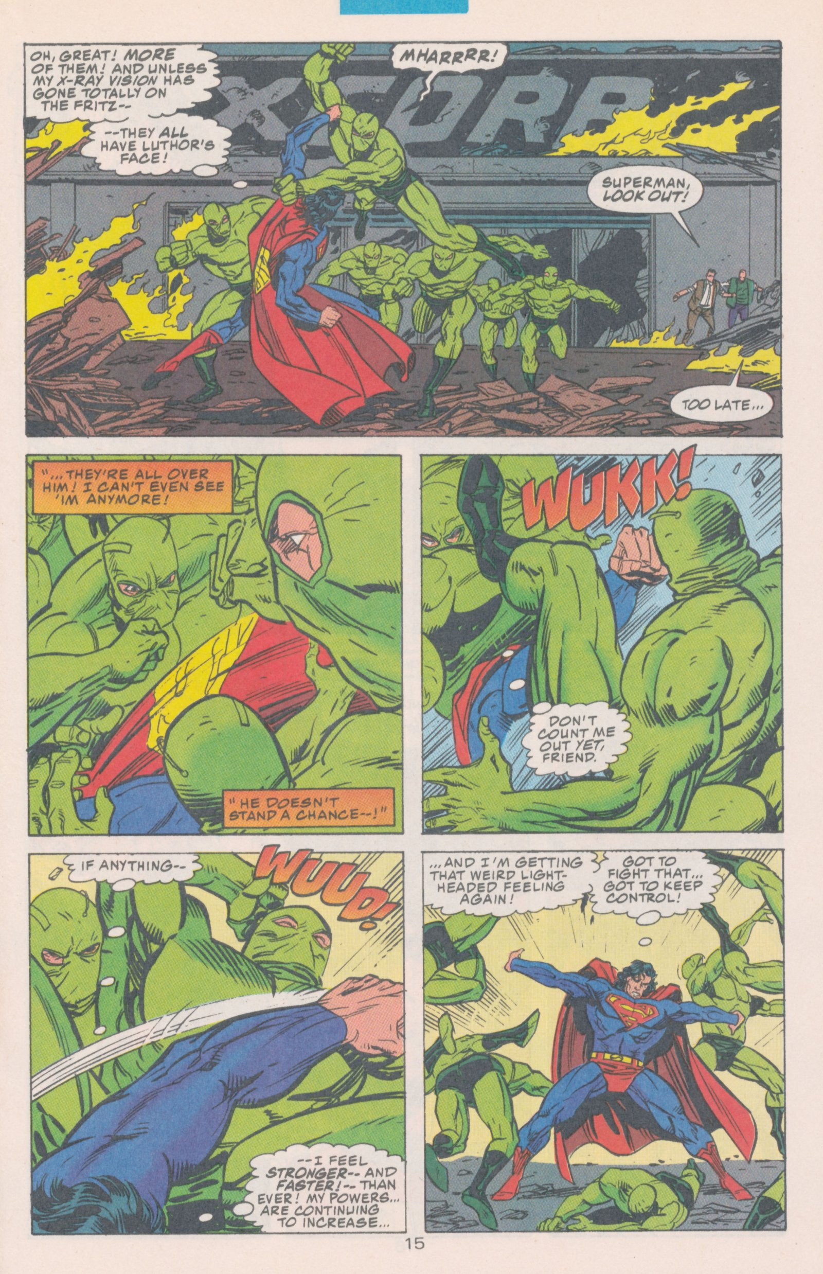 Read online Action Comics (1938) comic -  Issue #698 - 18