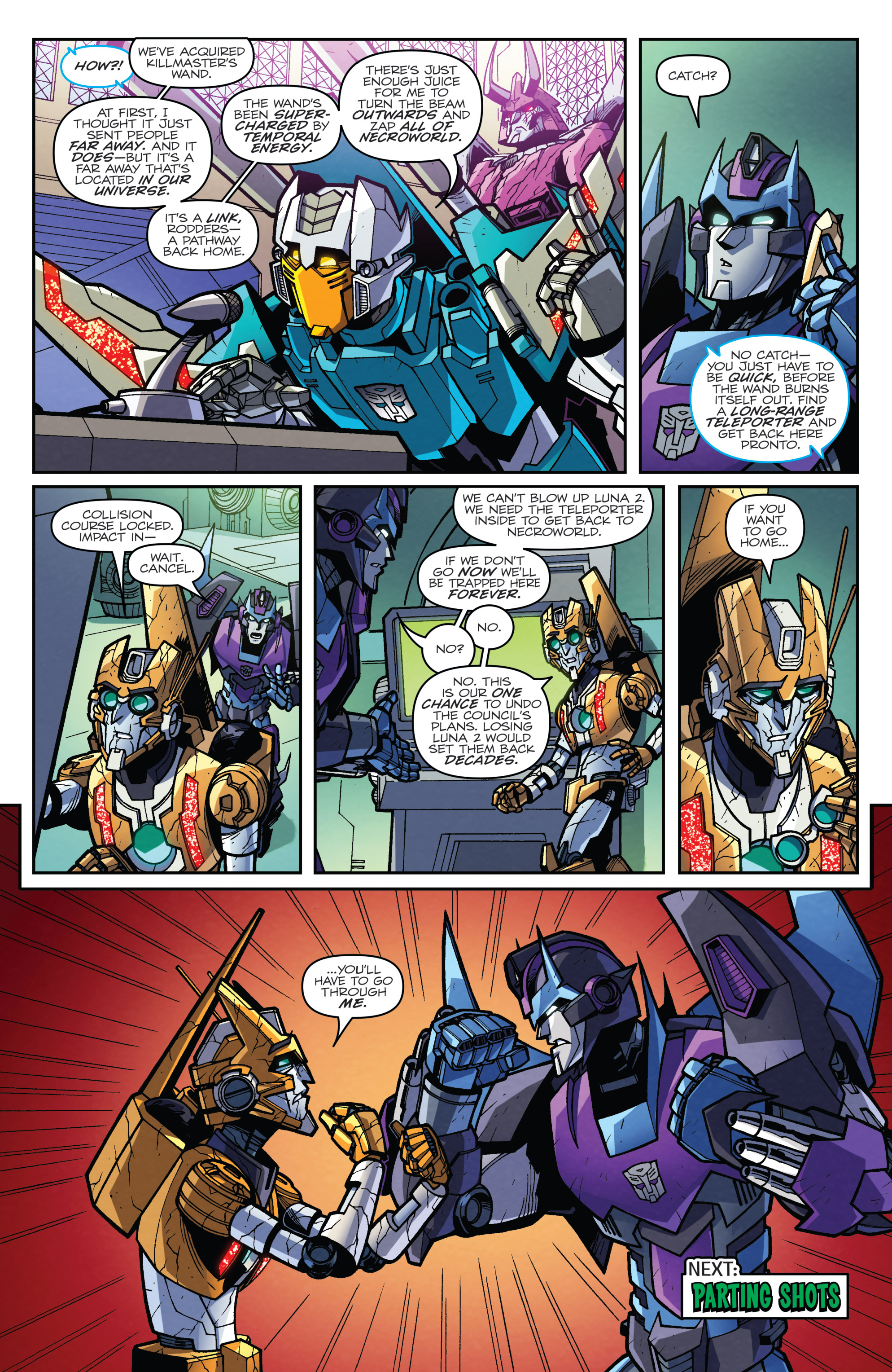Read online Transformers: Lost Light comic -  Issue #5 - 22