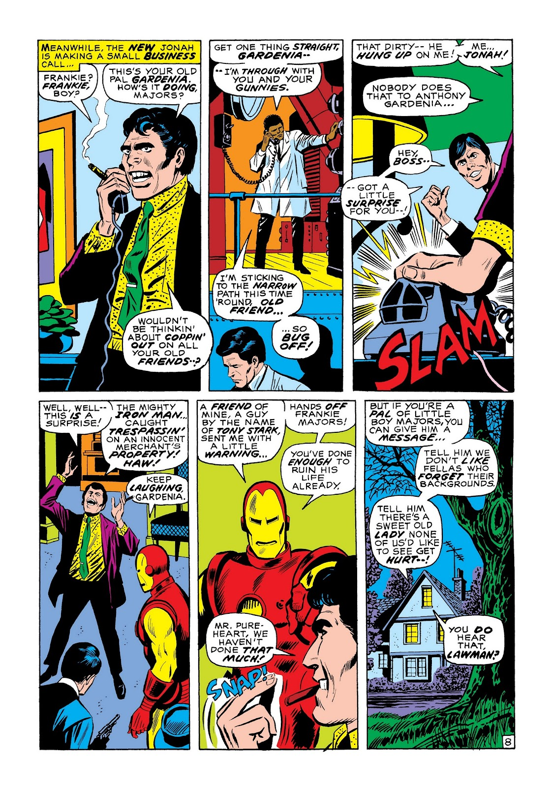Read online Marvel Masterworks: The Invincible Iron Man comic -  Issue # TPB 7 (Part 3) - 77