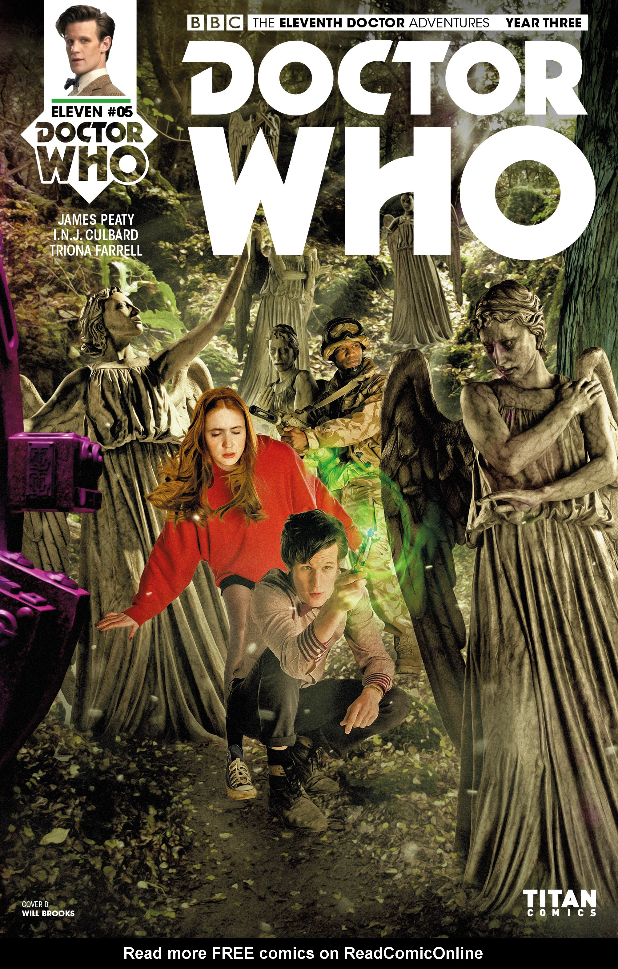 Read online Doctor Who: The Eleventh Doctor Year Three comic -  Issue #5 - 2