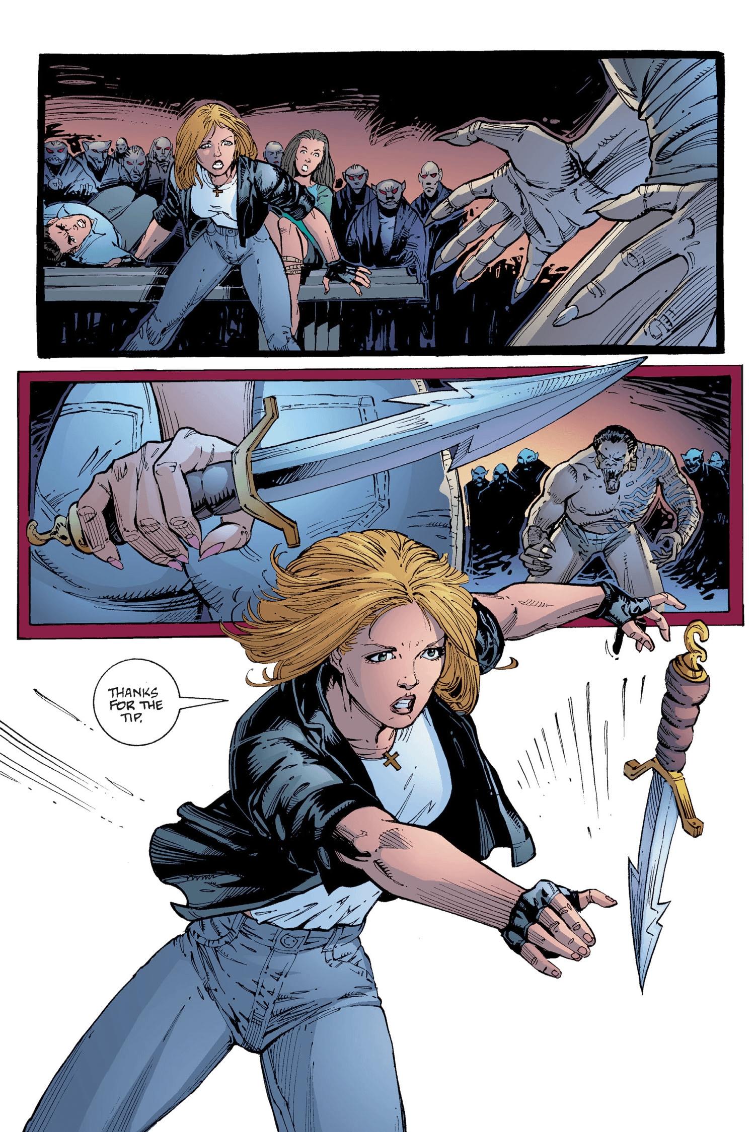 Read online Buffy the Vampire Slayer: Omnibus comic -  Issue # TPB 2 - 293