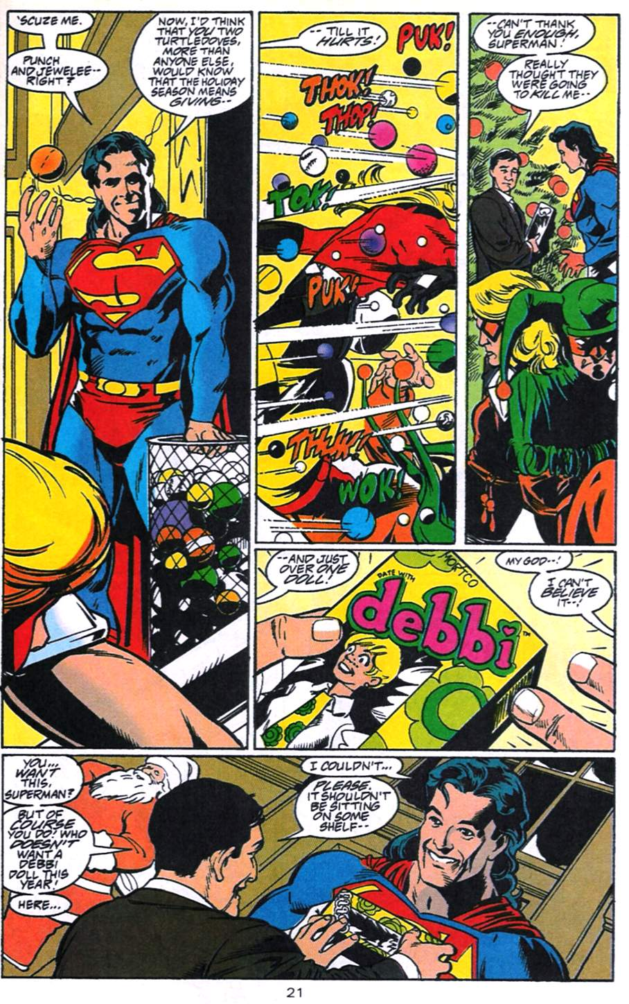 Read online Adventures of Superman (1987) comic -  Issue #520 - 22