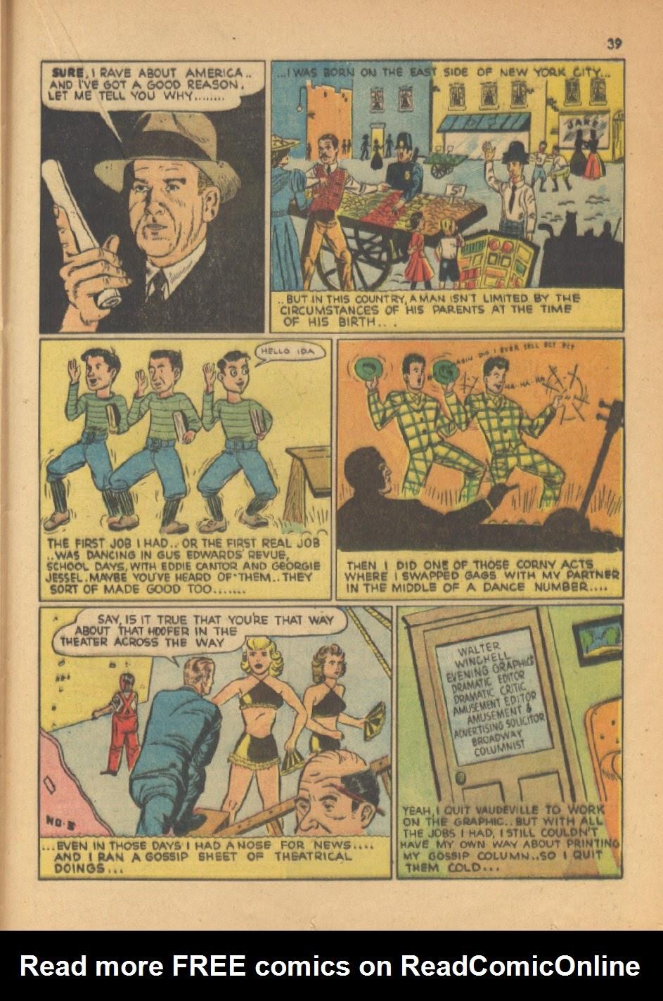Read online Super-Magician Comics comic -  Issue #13 - 39