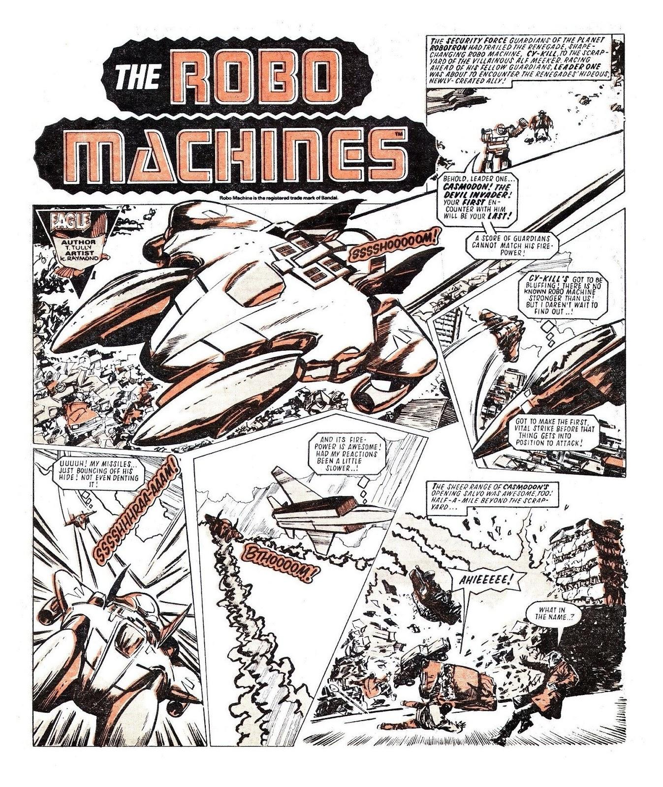 Read online Robo Machines comic -  Issue # TPB - 94