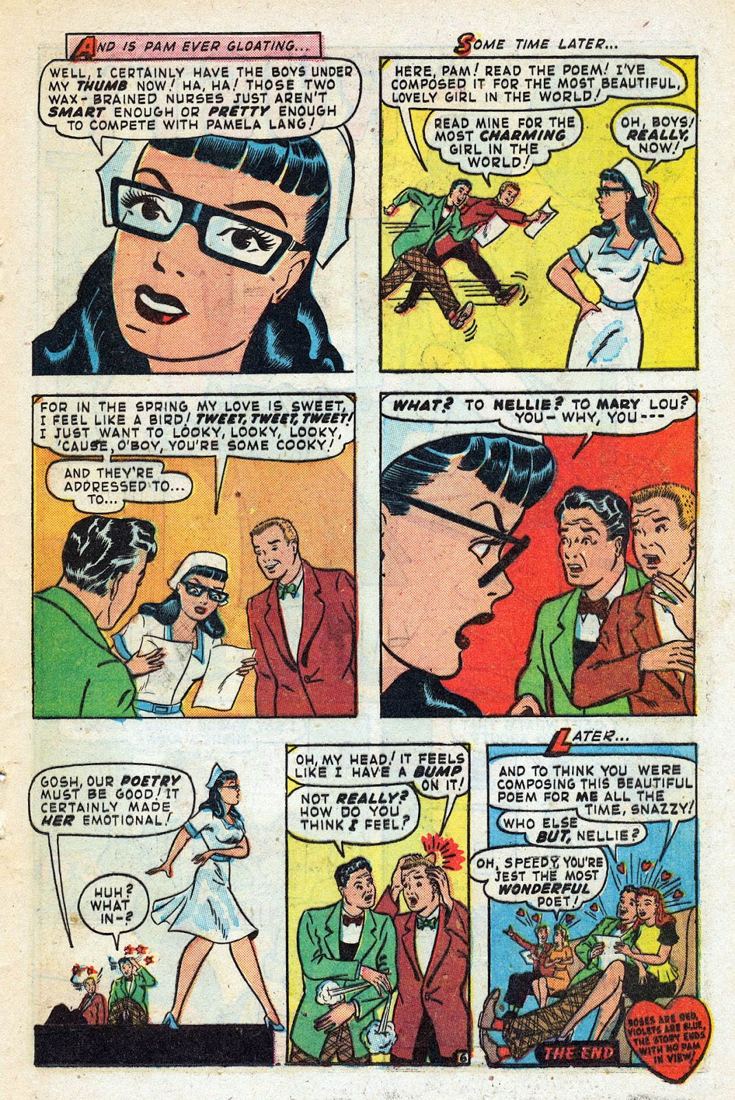 Read online Nellie The Nurse (1945) comic -  Issue #14 - 37