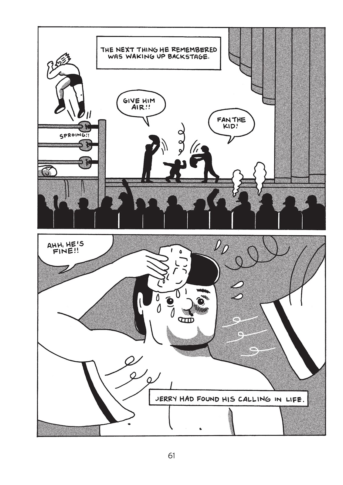 Read online Is This Guy For Real?: The Unbelievable Andy Kaufman comic -  Issue # TPB (Part 1) - 66
