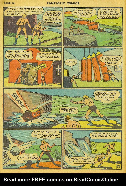 Read online Fantastic Comics comic -  Issue #15 - 5