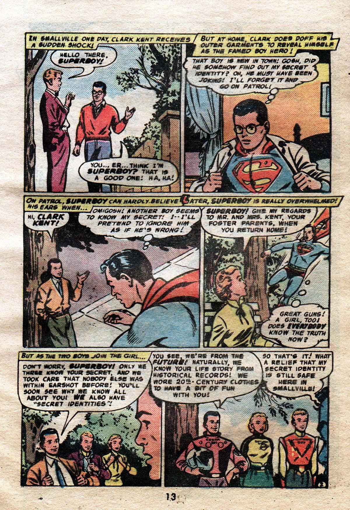Read online Adventure Comics (1938) comic -  Issue #491 - 13