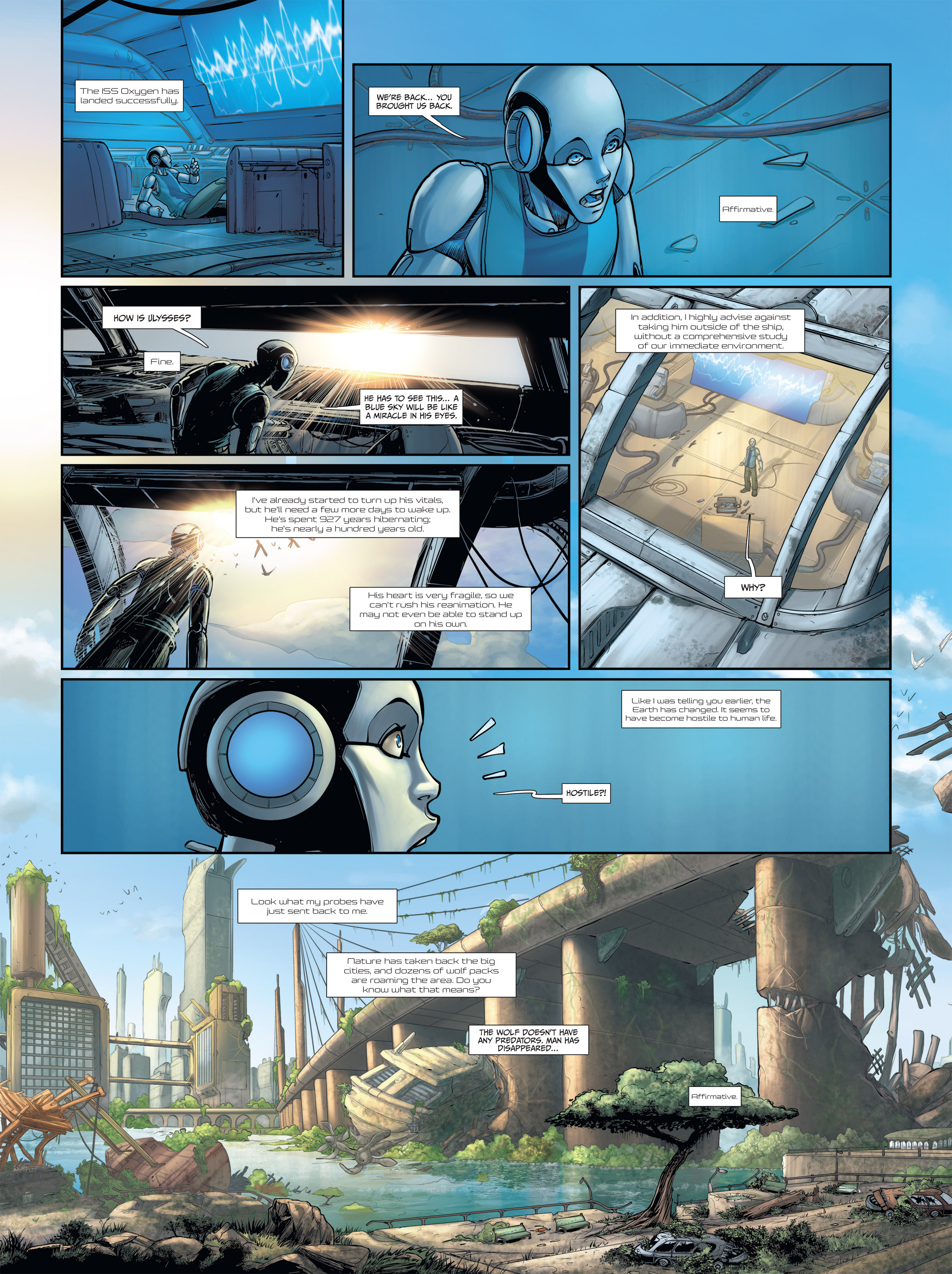 Read online Androïds comic -  Issue #2 - 15