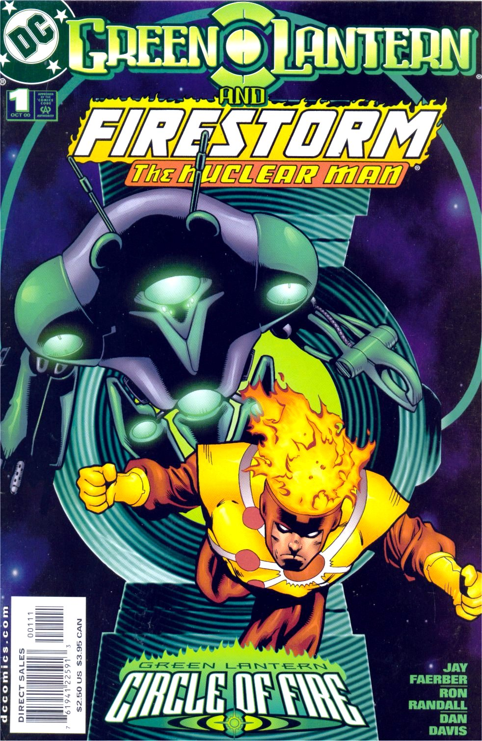 Green Lantern: Circle of Fire 5 Page 1