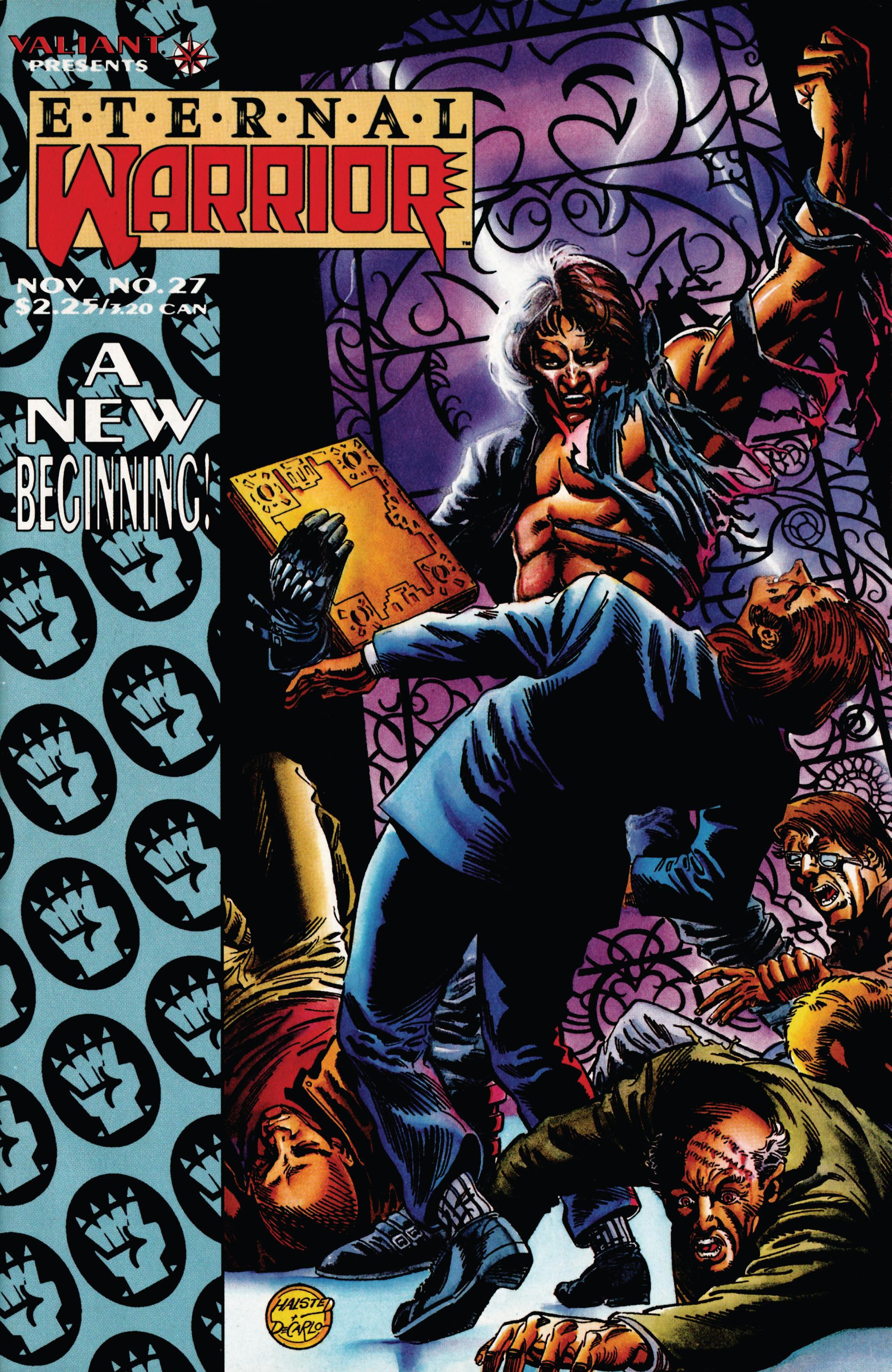 Read online Eternal Warrior (1992) comic -  Issue #27 - 1