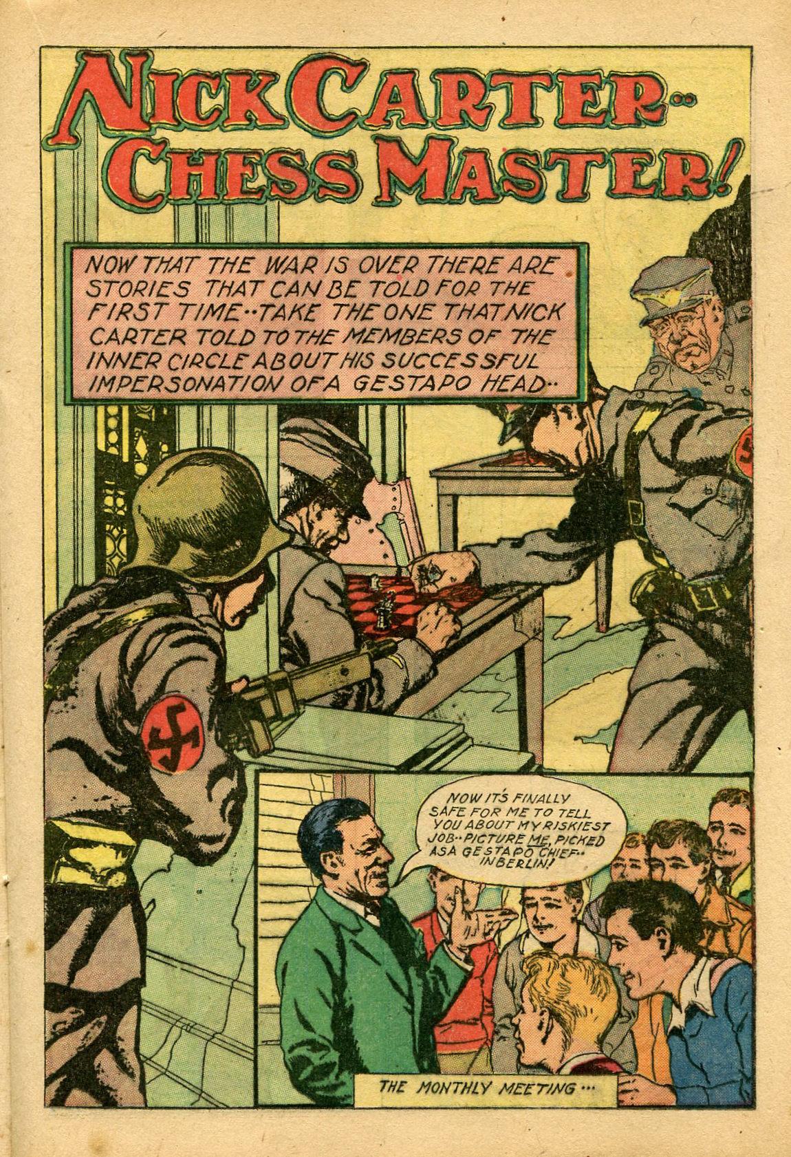 Read online Shadow Comics comic -  Issue #69 - 23