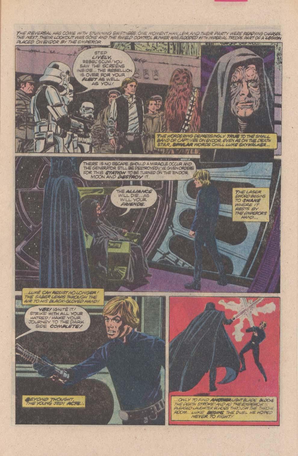 Read online Star Wars: Return of the Jedi comic -  Issue #4 - 8