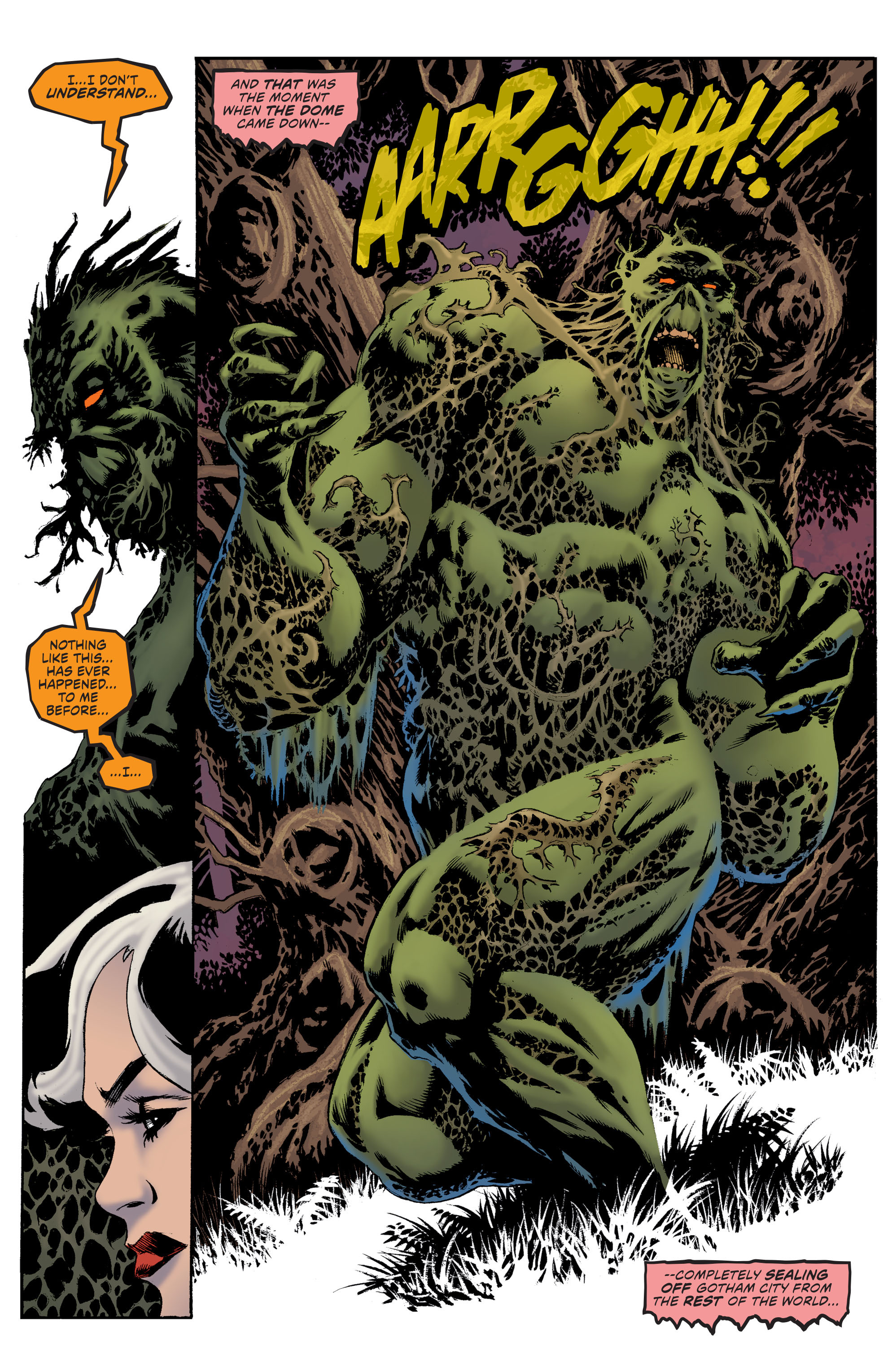 Read online Convergence Swamp Thing comic -  Issue #1 - 12