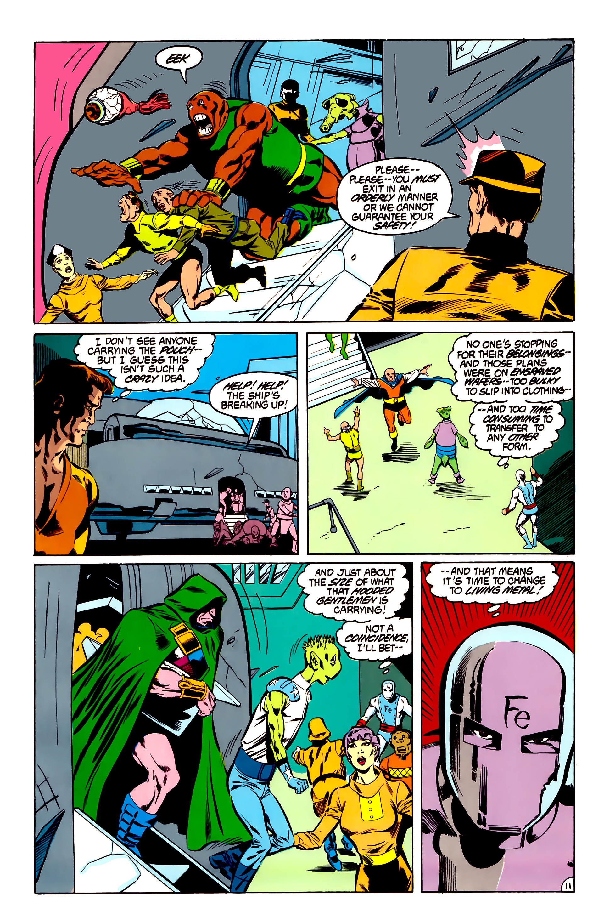 Legion of Super-Heroes (1984) 31 Page 11