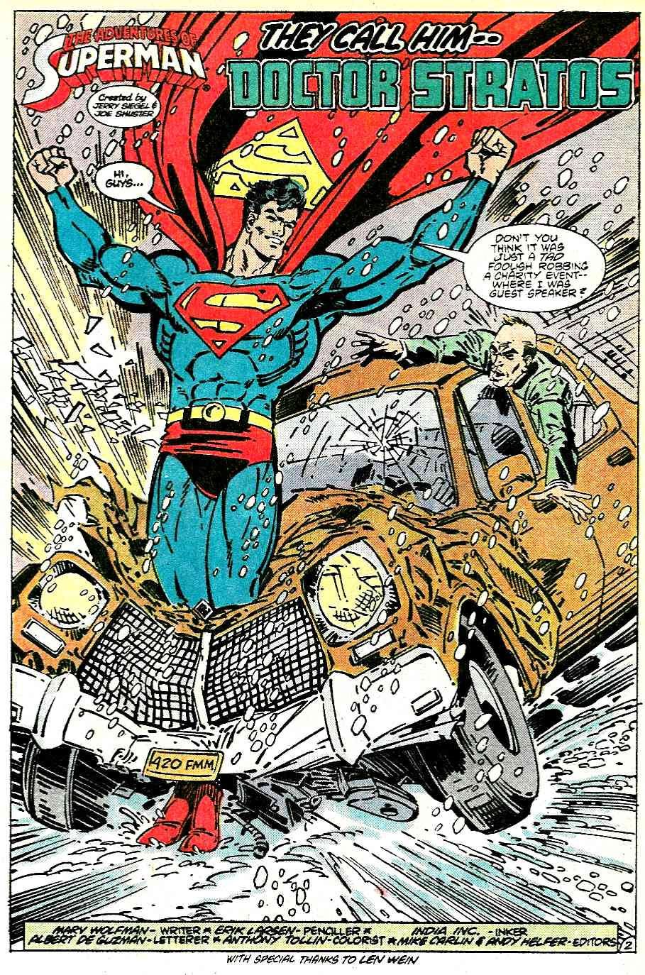 Read online Adventures of Superman (1987) comic -  Issue #431 - 3