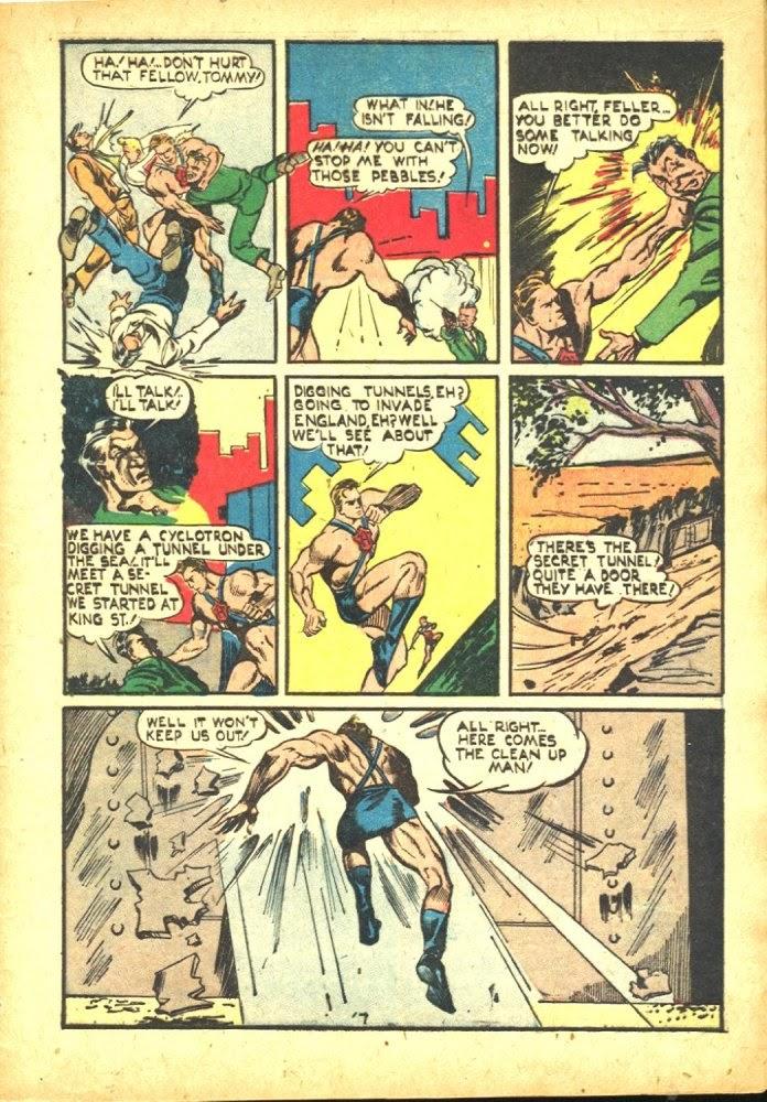 Read online Amazing Man Comics comic -  Issue #25 - 9