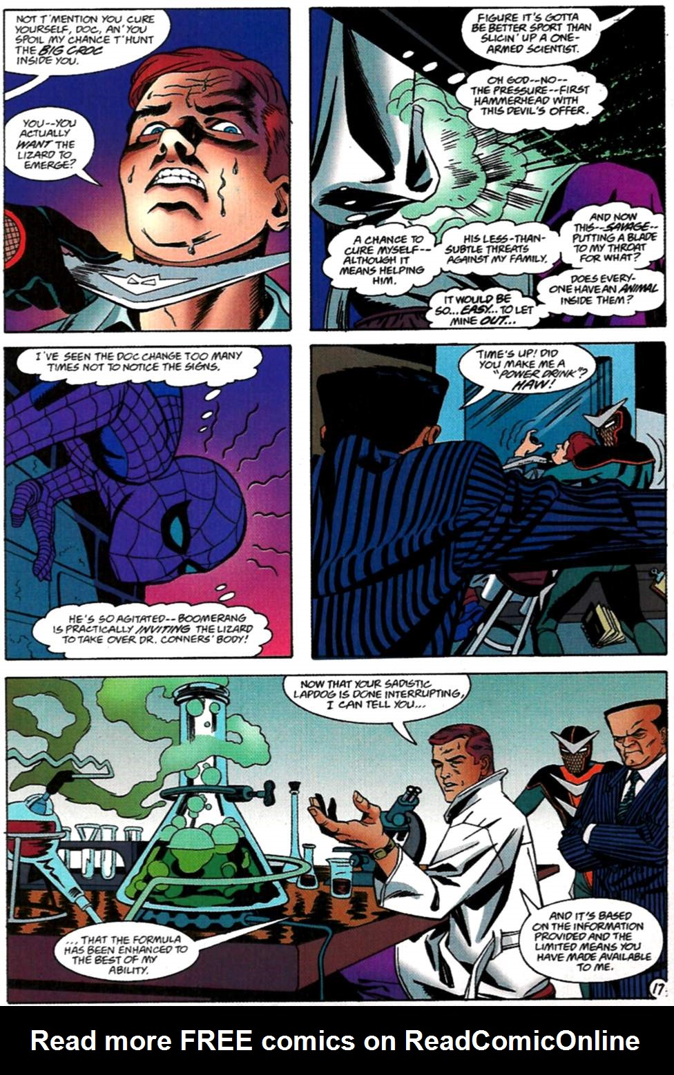 Read online Spider-Man: Lifeline comic -  Issue #2 - 18