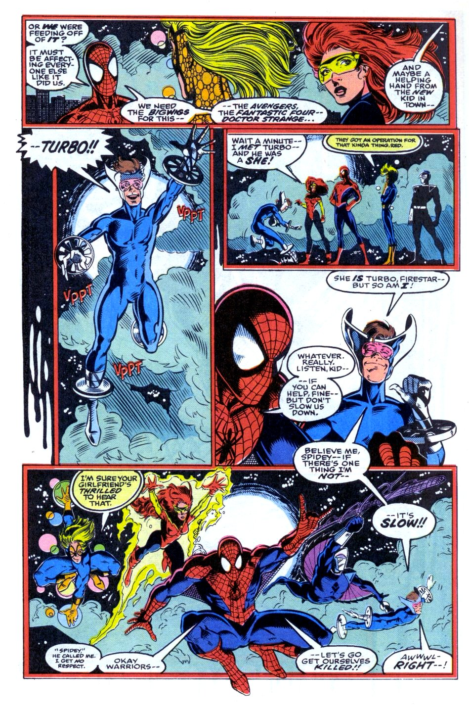 The New Warriors Issue #33 #37 - English 8