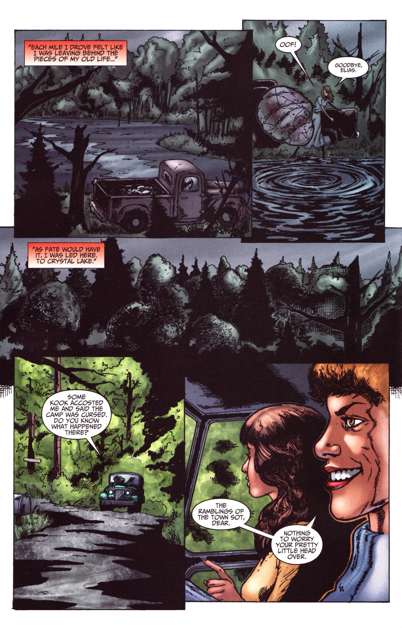 Read online Friday the 13th: Pamela's Tale comic -  Issue #1 - 21