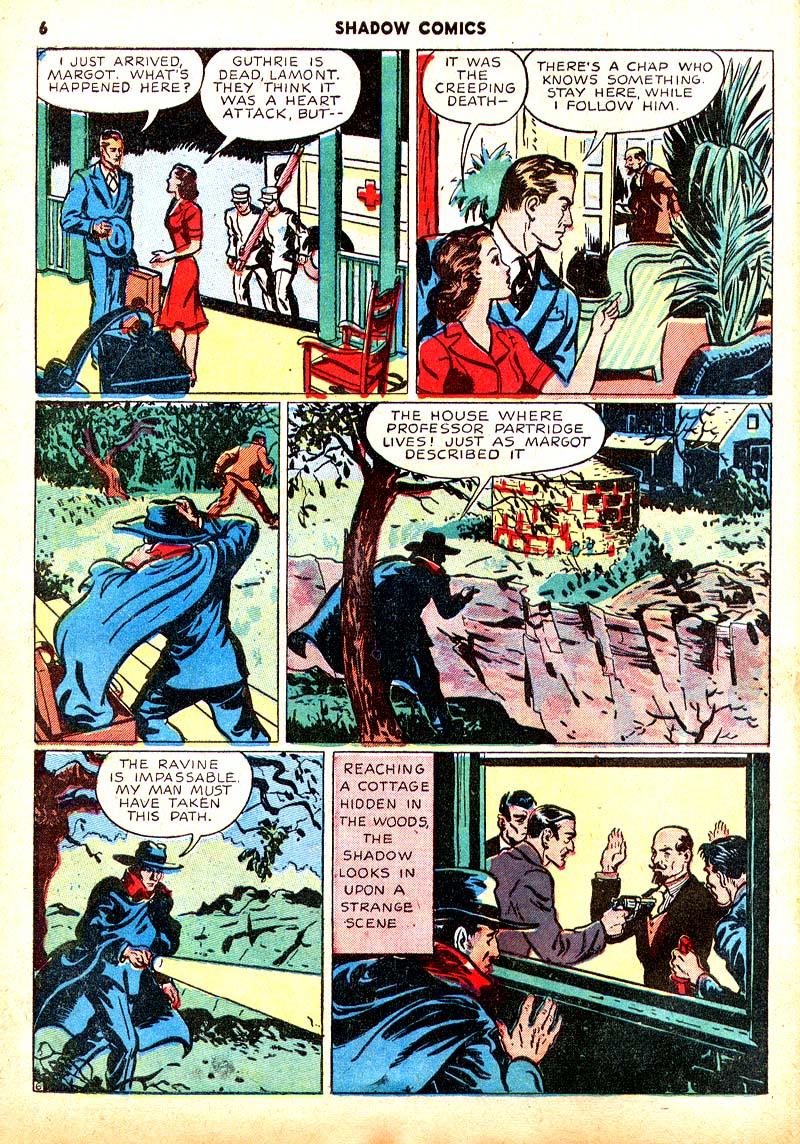 Read online Shadow Comics comic -  Issue #7 - 7