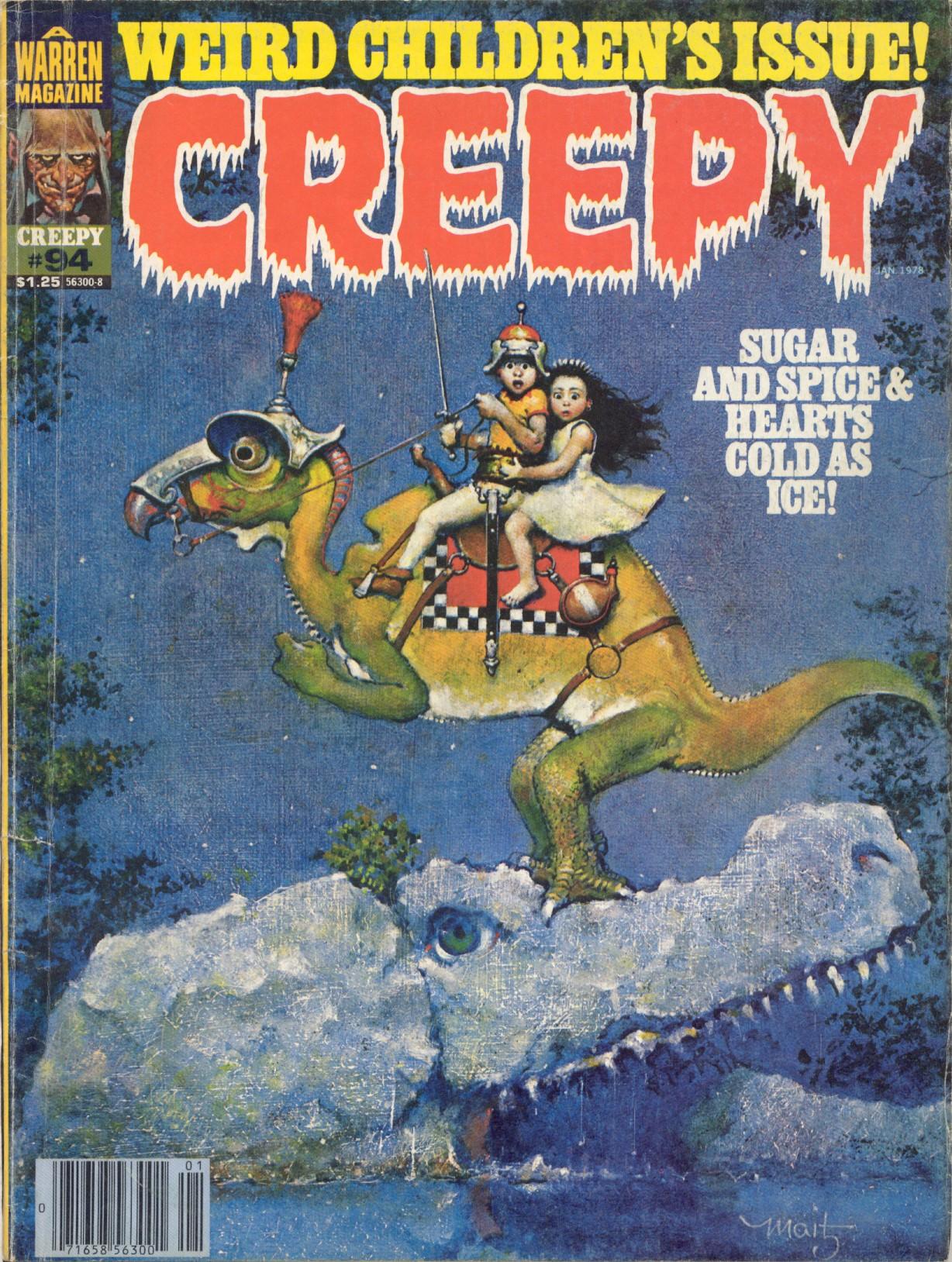 Creepy (1964) 94 Page 1