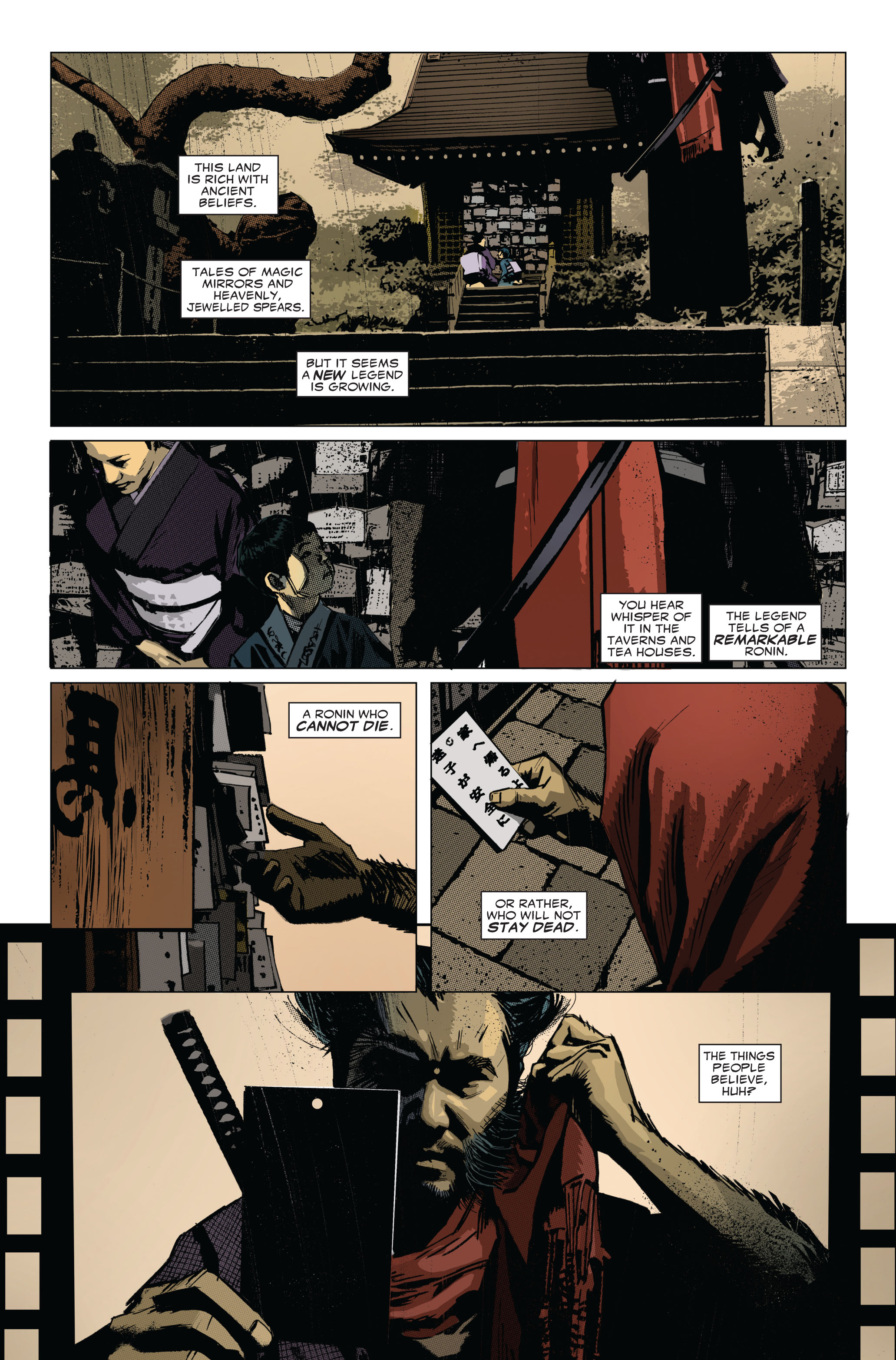 Read online 5 Ronin (2011) comic -  Issue #1 - 4