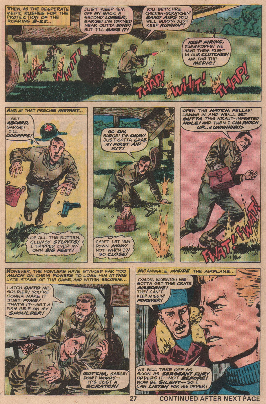 Read online Sgt. Fury comic -  Issue #141 - 29