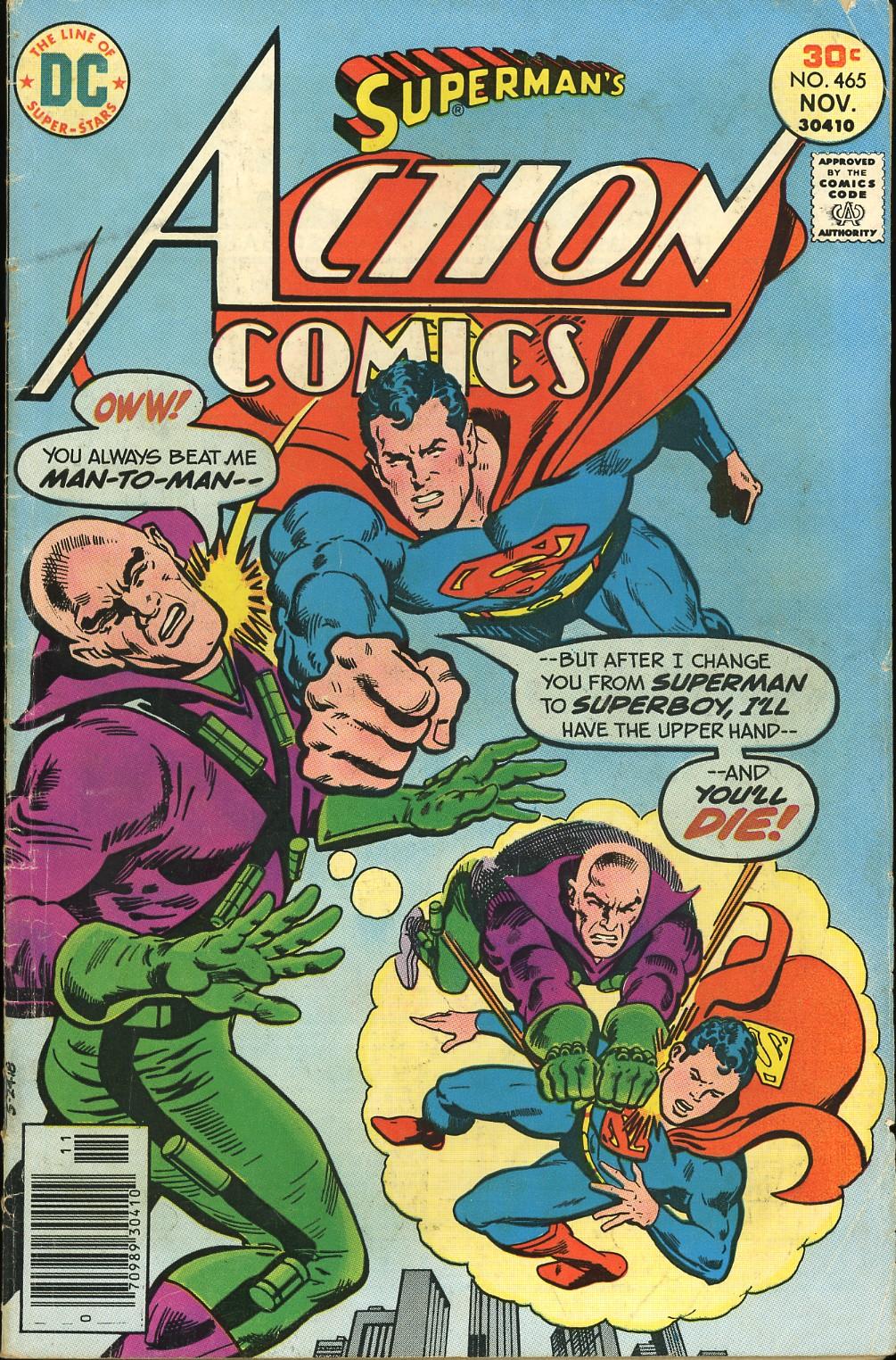 Action Comics (1938) 465 Page 1