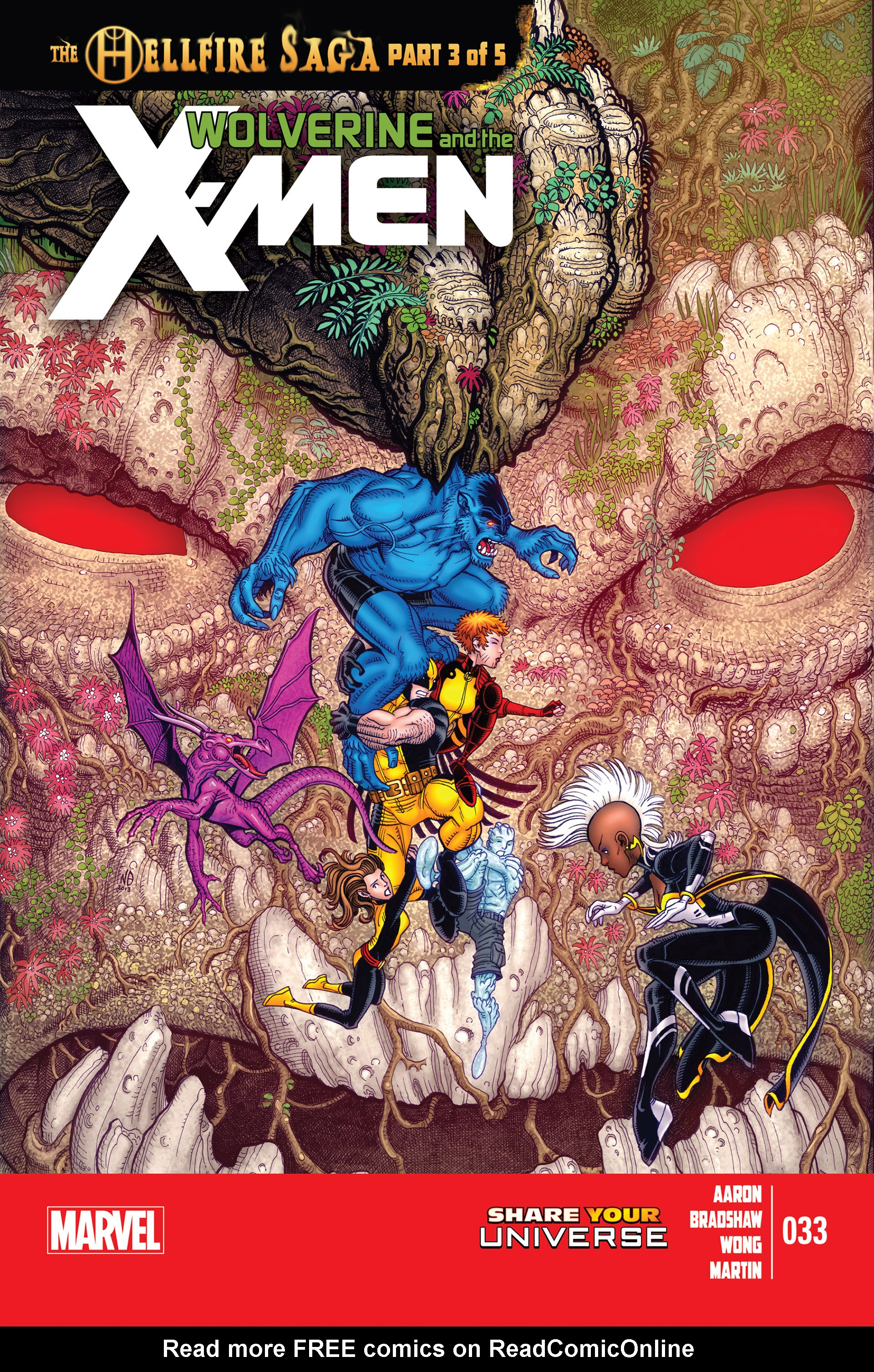 Wolverine & The X-Men 33 Page 1