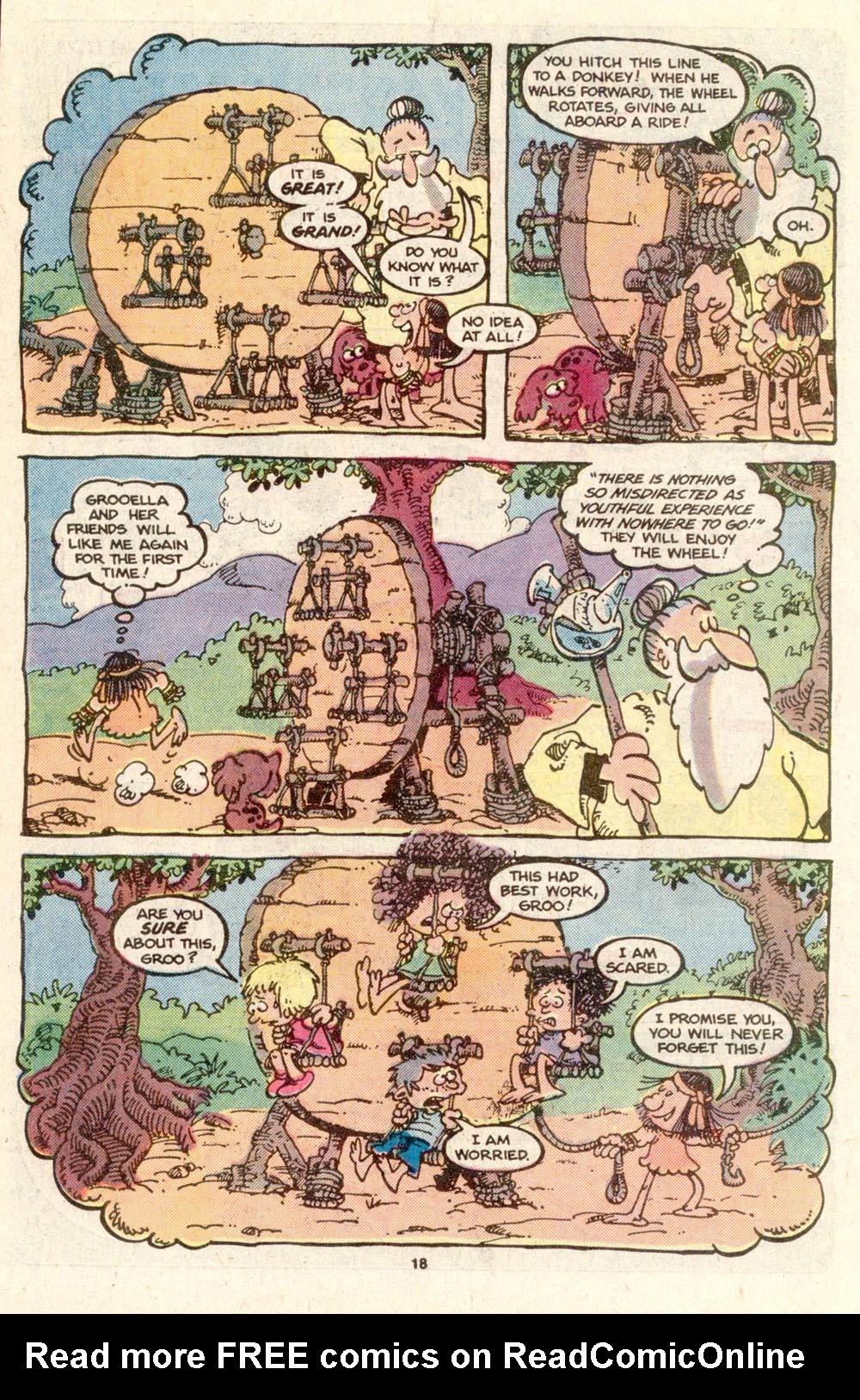 Read online Sergio Aragonés Groo the Wanderer comic -  Issue #19 - 18