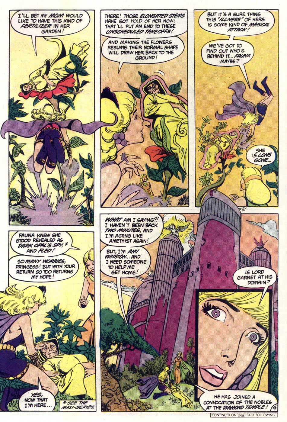 Read online Amethyst (1985) comic -  Issue #2 - 5