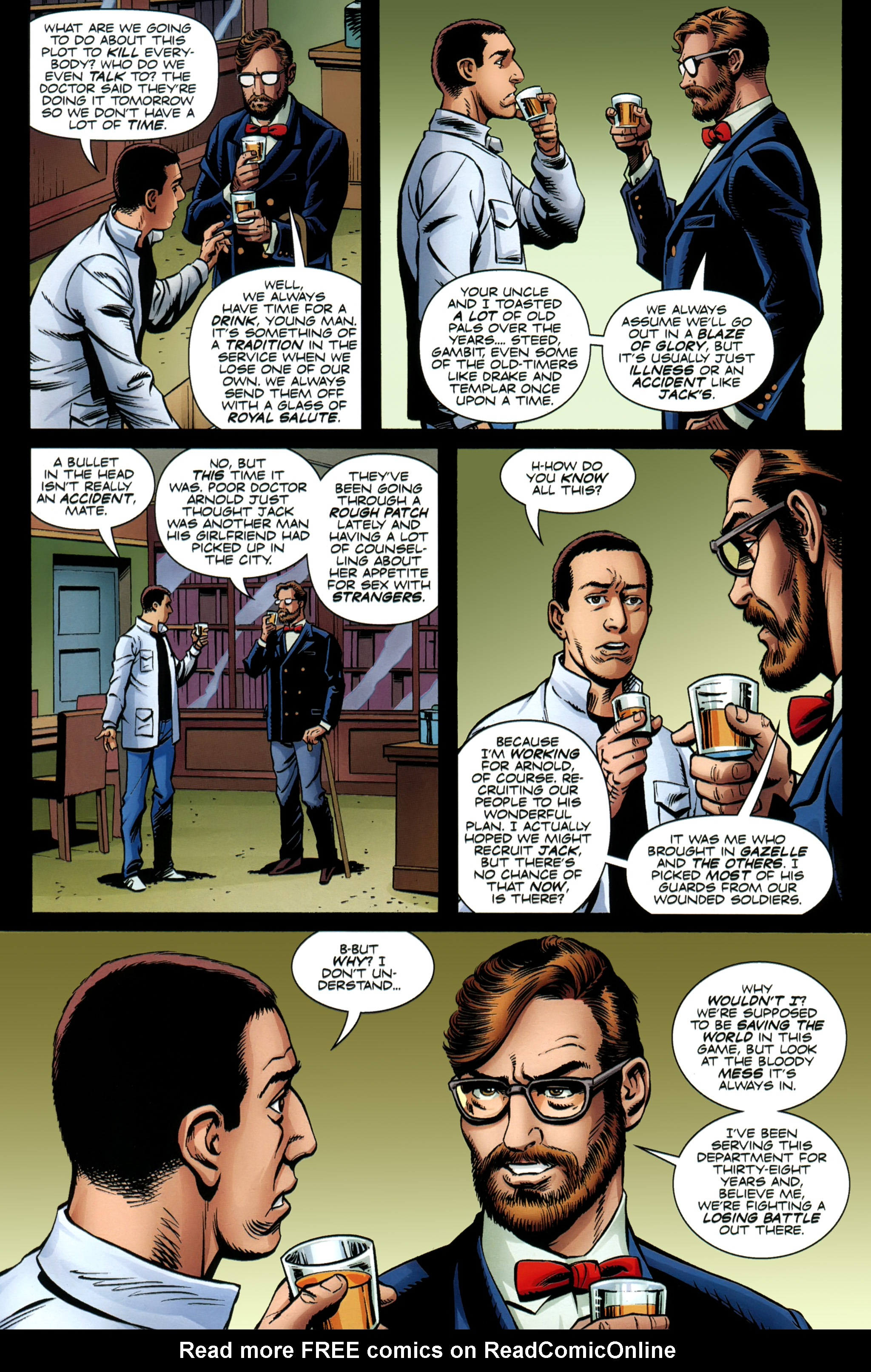 Read online Secret Service comic -  Issue #6 - 5