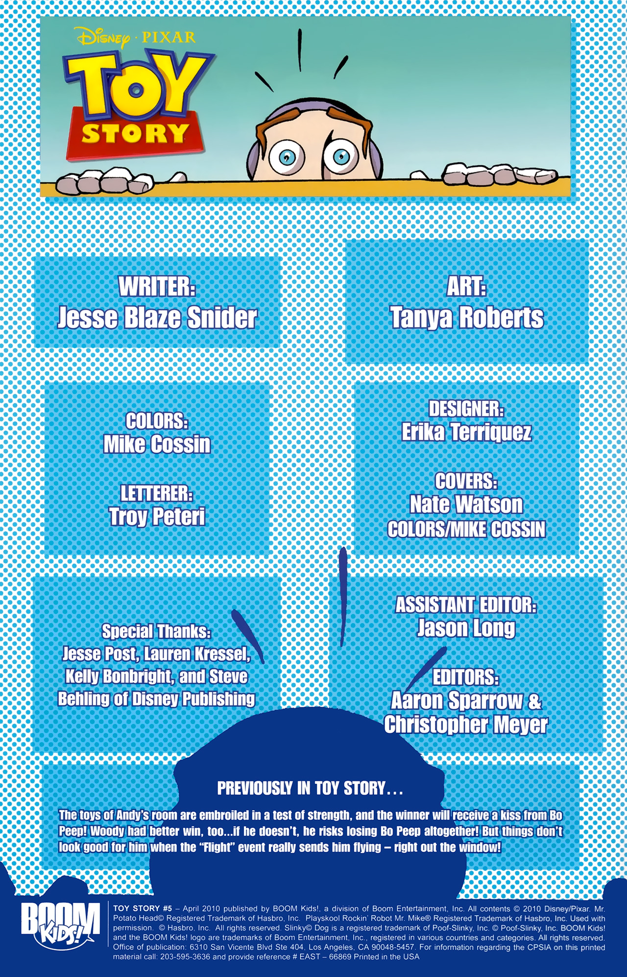 Read online Toy Story (2009) comic -  Issue #5 - 3