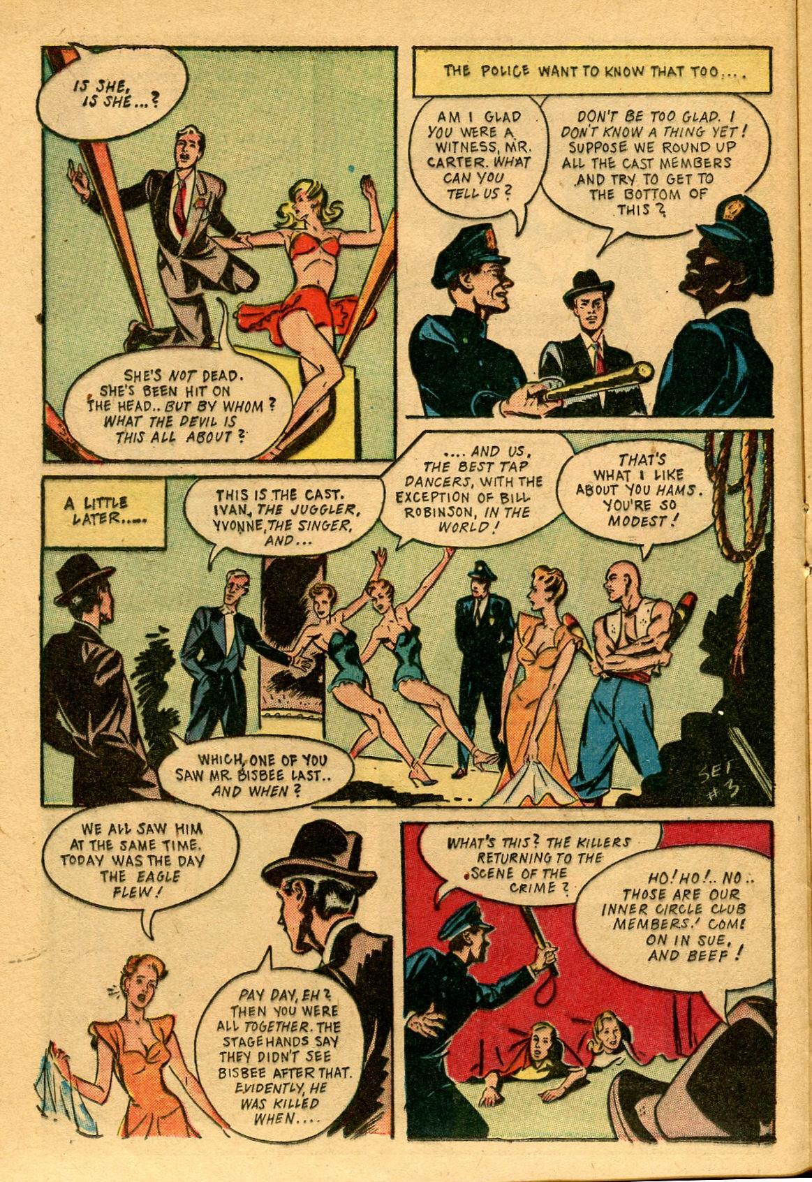 Read online Shadow Comics comic -  Issue #53 - 21
