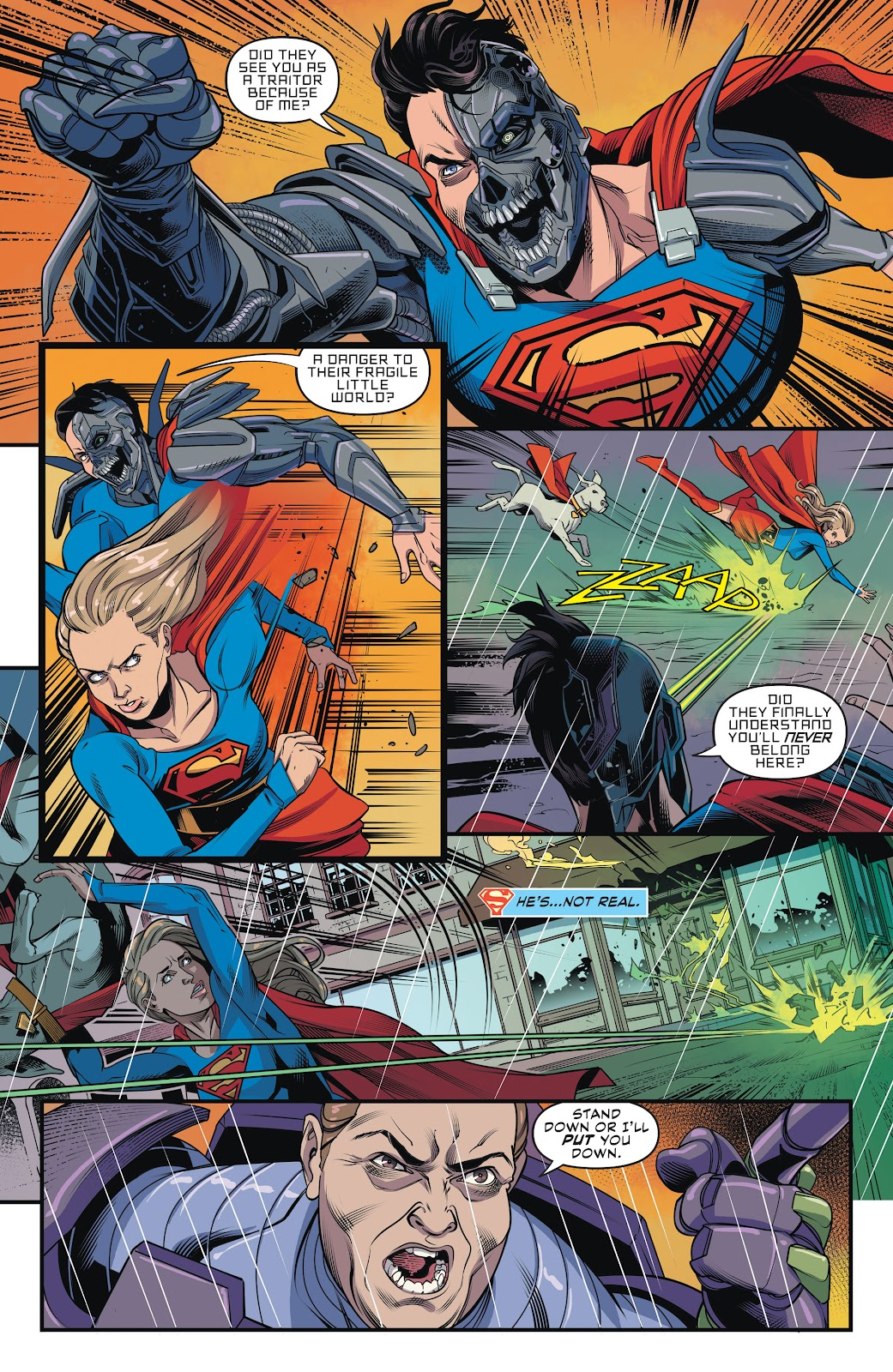 Read online Supergirl (2016) comic -  Issue #42 - 6